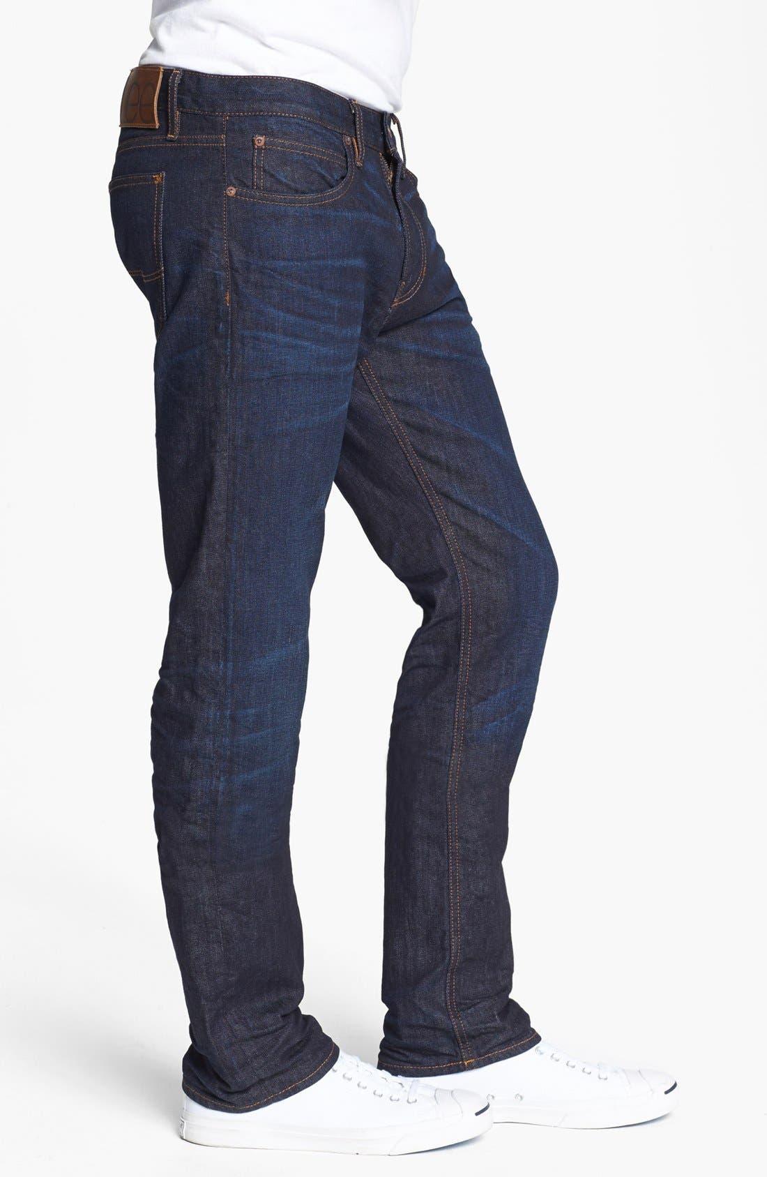Alternate Image 3  - Lee 101 USA Straight Leg Jeans (30 Days)