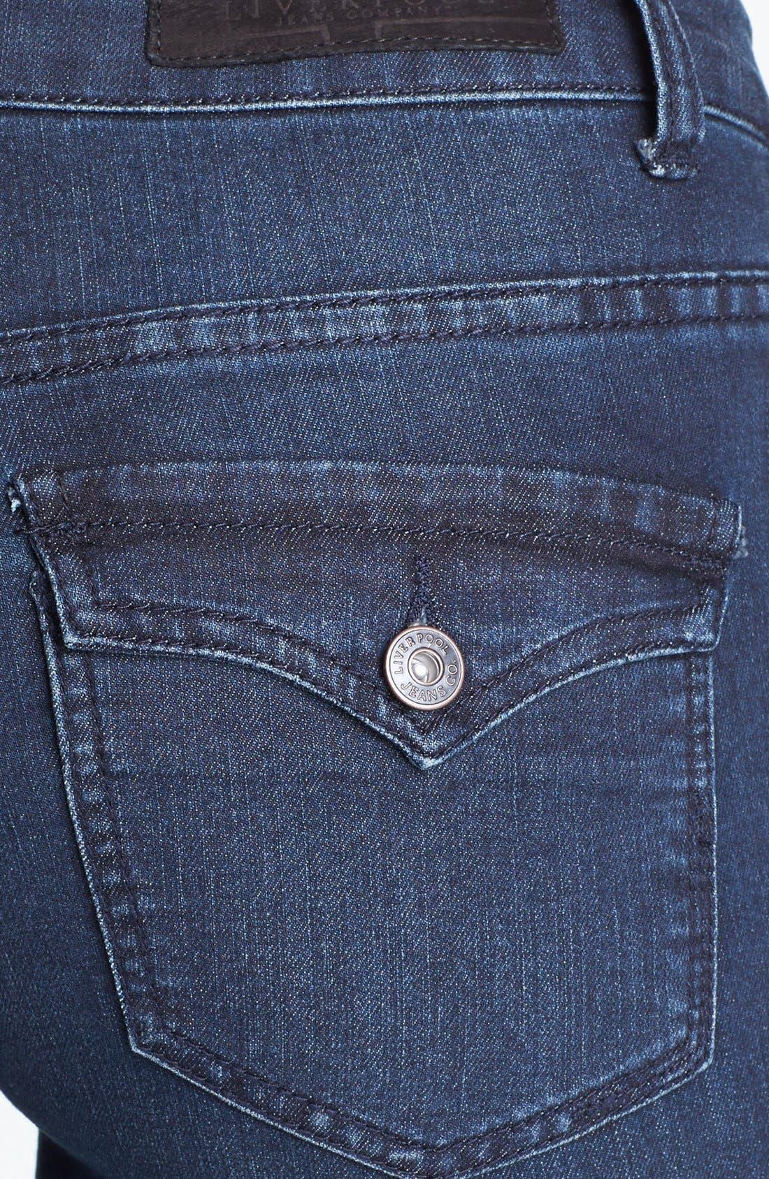 Alternate Image 3  - Liverpool Jeans Company 'Rita' Bootcut Stretch Jeans (Petite)