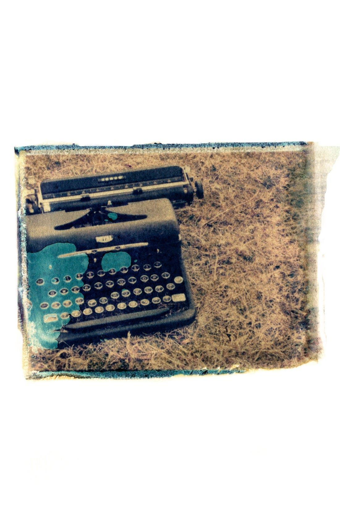 Main Image - She Hit Pause Studios 'Typewriter in Field' Wall Art