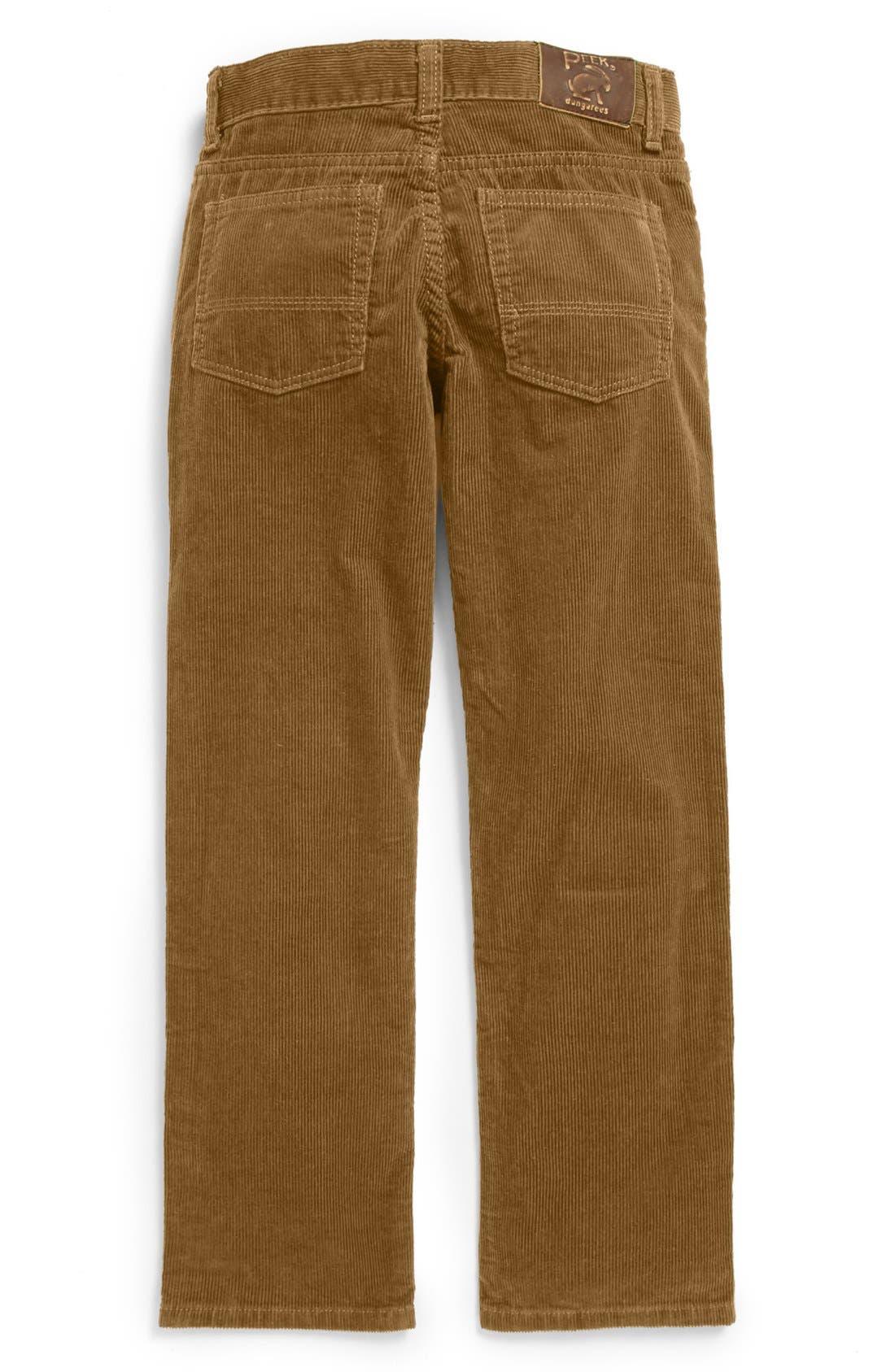 Alternate Image 2  - Peek 'Ellis' Slim Corduroy Pants (Toddler Boys, Little Boys & Big Boys)