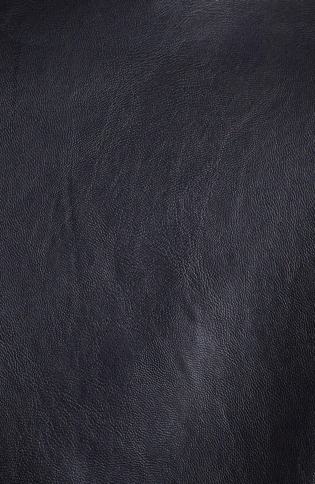 Alternate Image 3  - Mural Faux Leather Moto Jacket