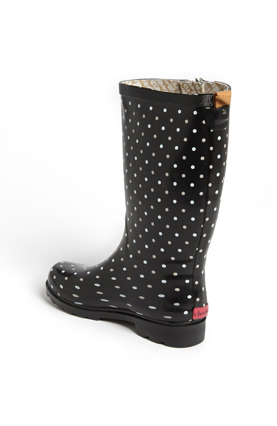 Alternate Image 2  - Chooka 'Classical Dot' Rain Boot (Women)
