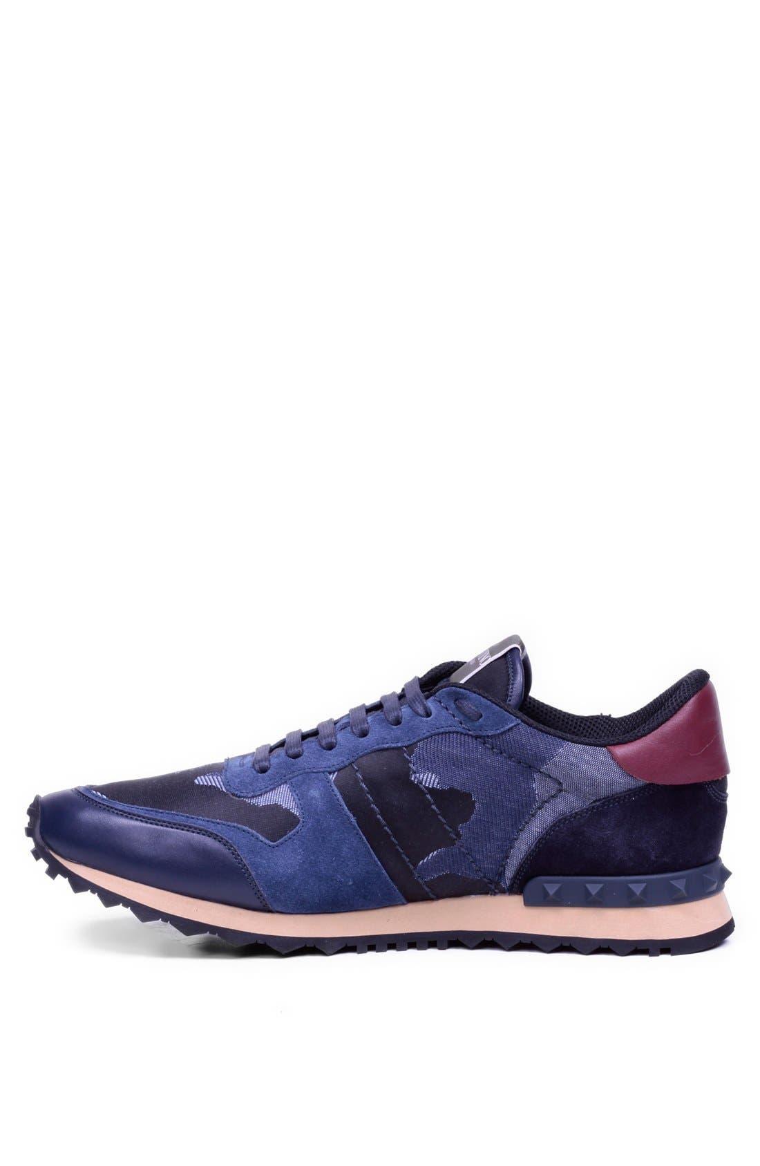 Alternate Image 2  - Valentino Camouflage Sneaker (Men)