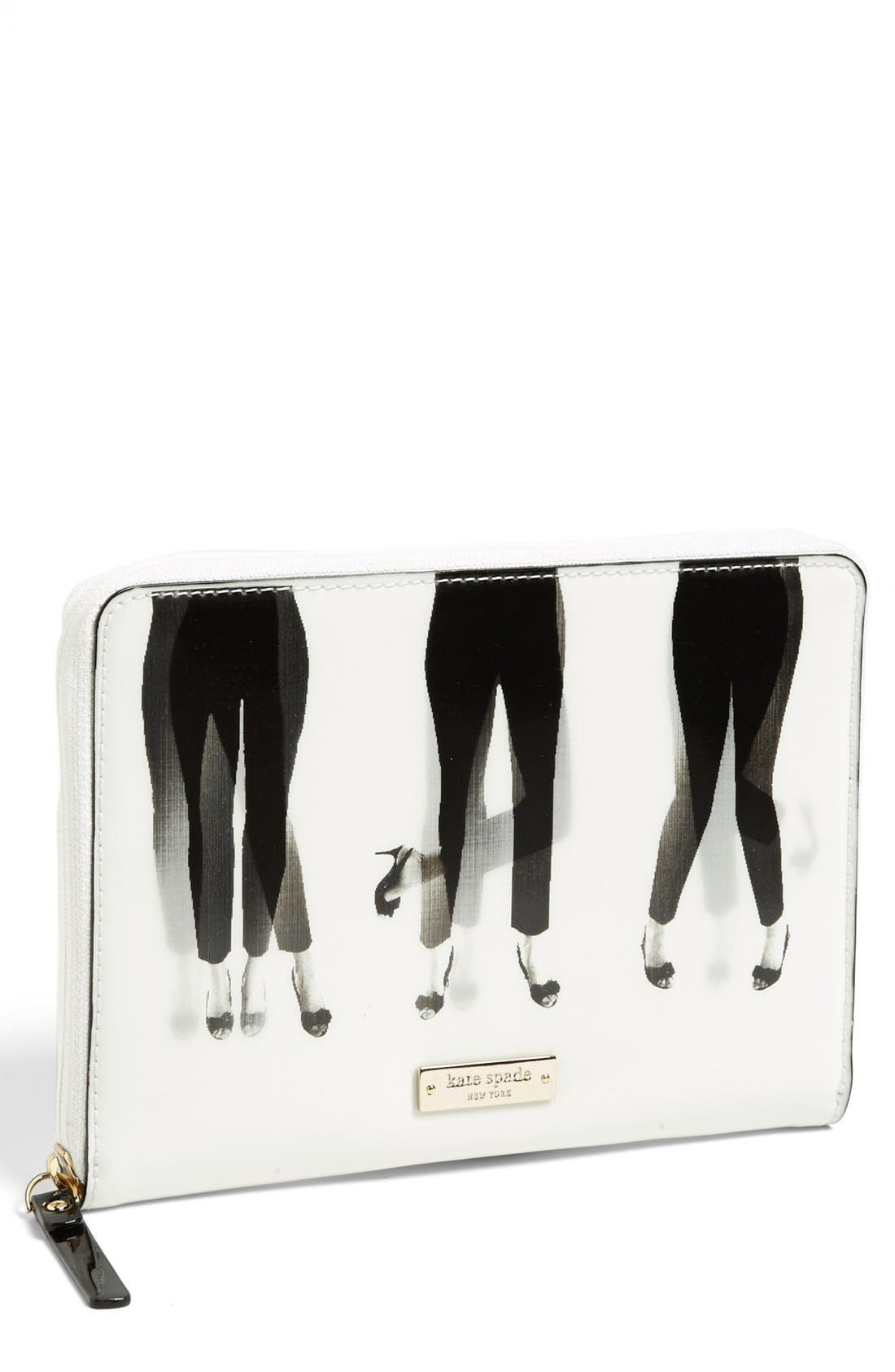 Alternate Image 1 Selected - kate spade new york 'dancing lenticular' iPad mini folio