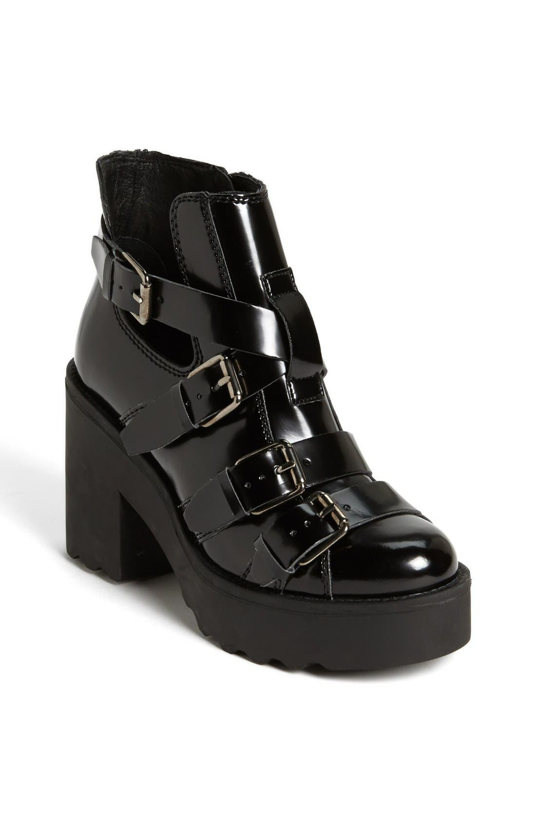 Alternate Image 1 Selected - Topshop 'Argo Heavy Strap' Boot