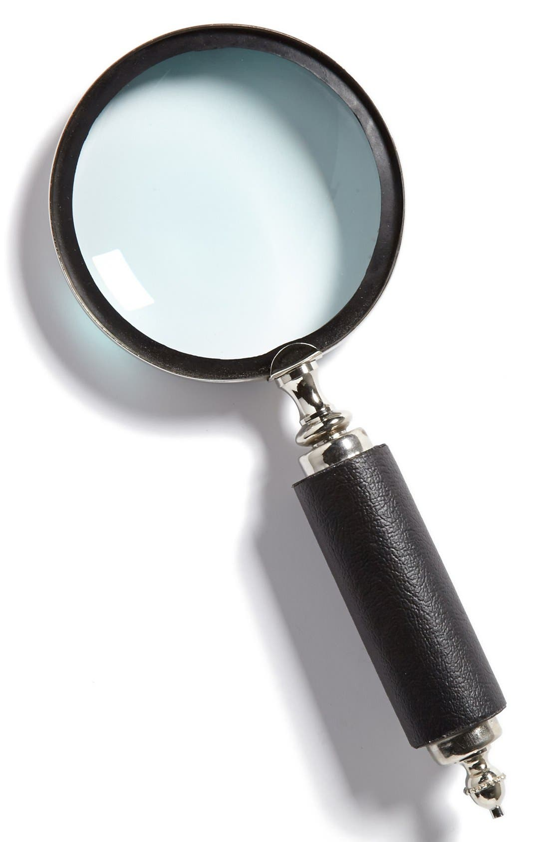 Main Image - Import Collection Blackened Horn Handle Magnifying Glass