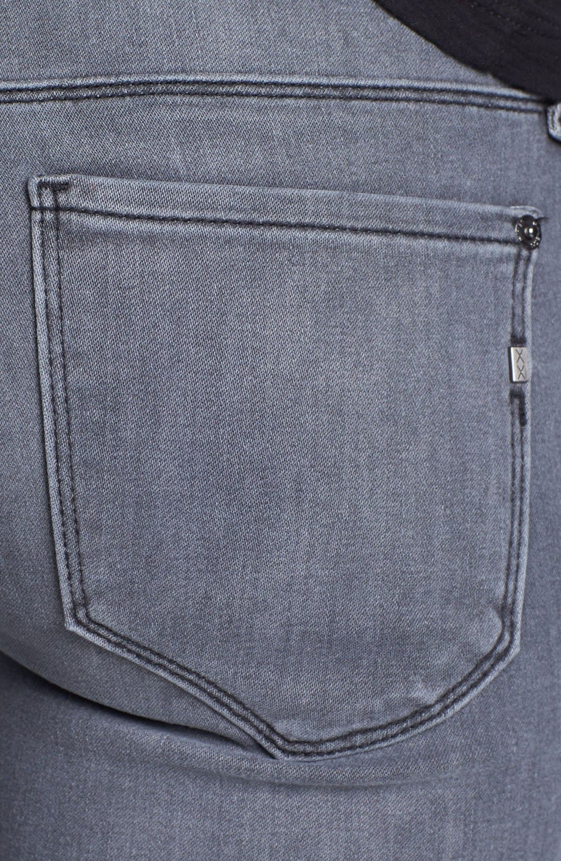 Alternate Image 3  - Genetic 'Shya' Cigarette Skinny Jeans (Gaze)