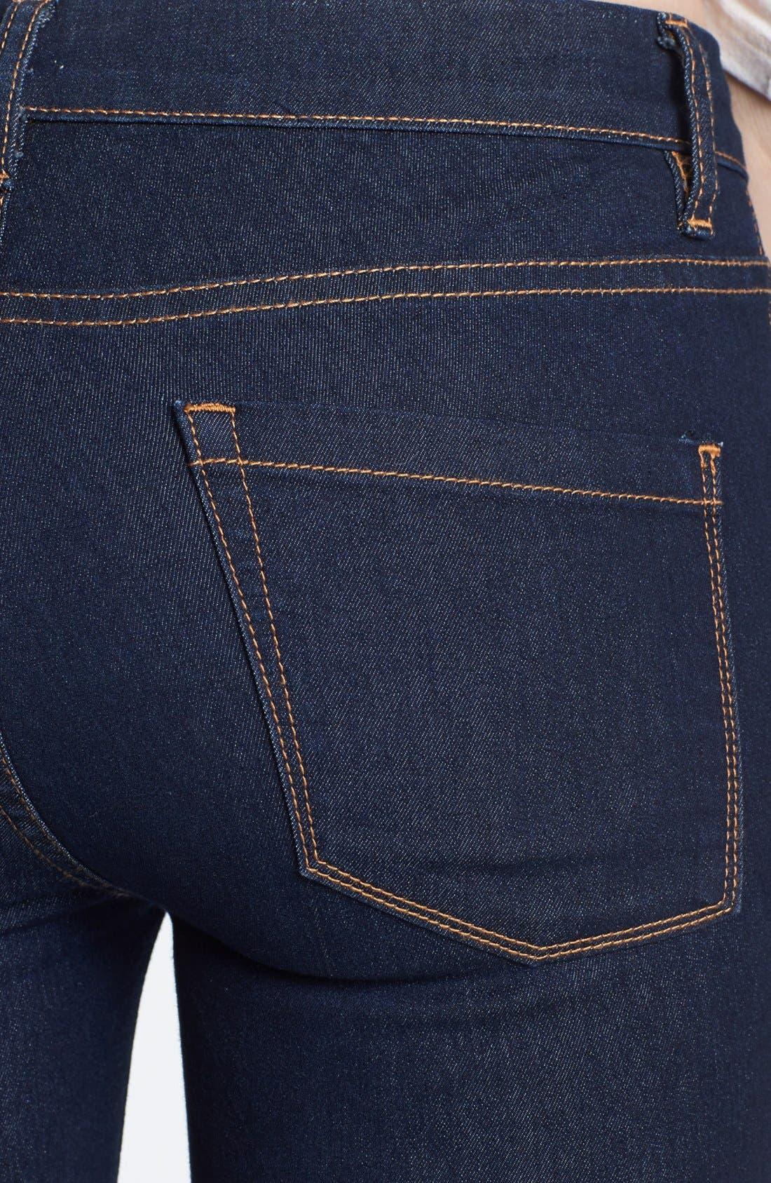 Alternate Image 3  - BLANKNYC High Rise Skinny Jeans