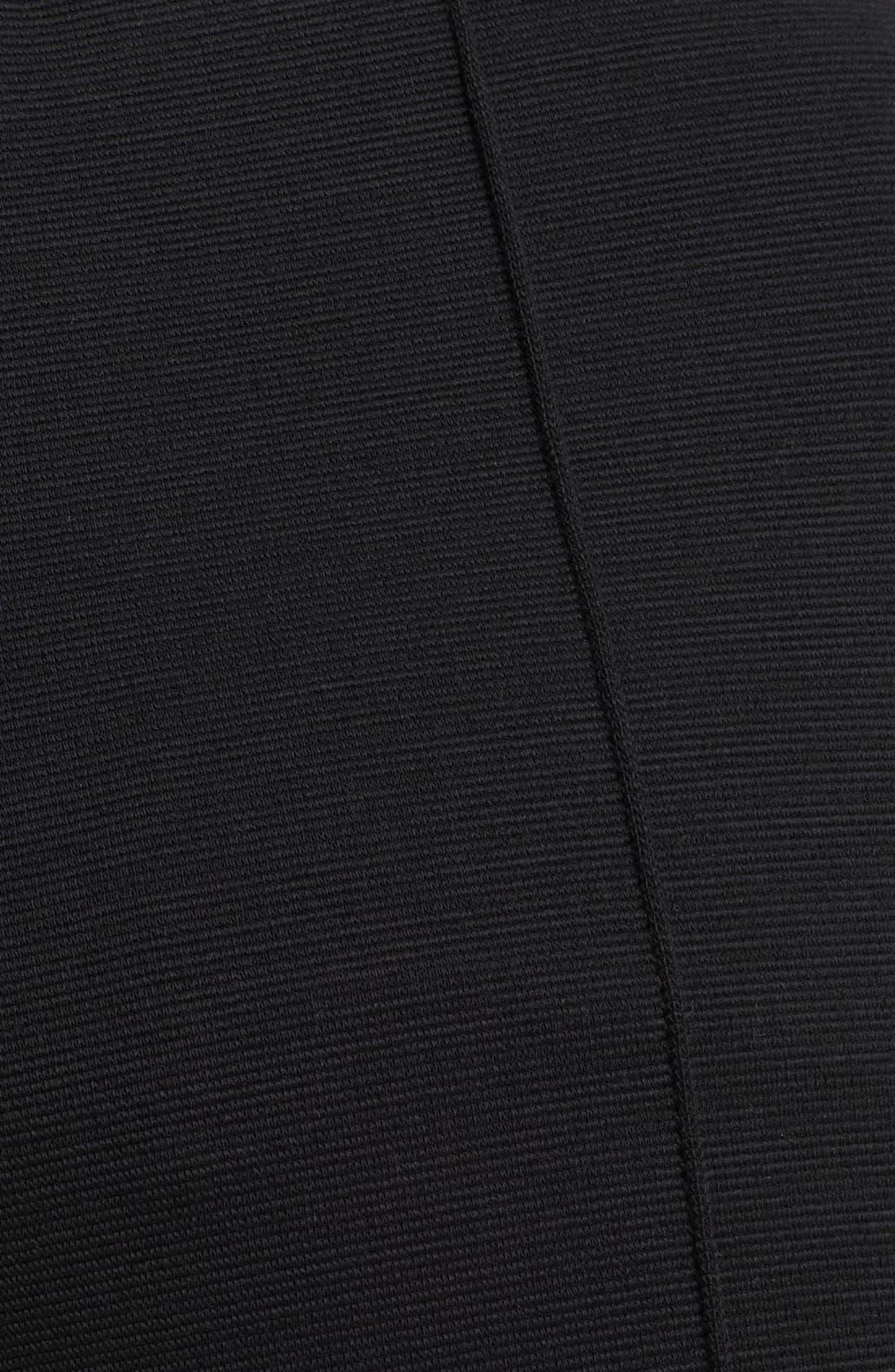 Alternate Image 3  - Oscar de la Renta Skinny Stretch Jersey Pants
