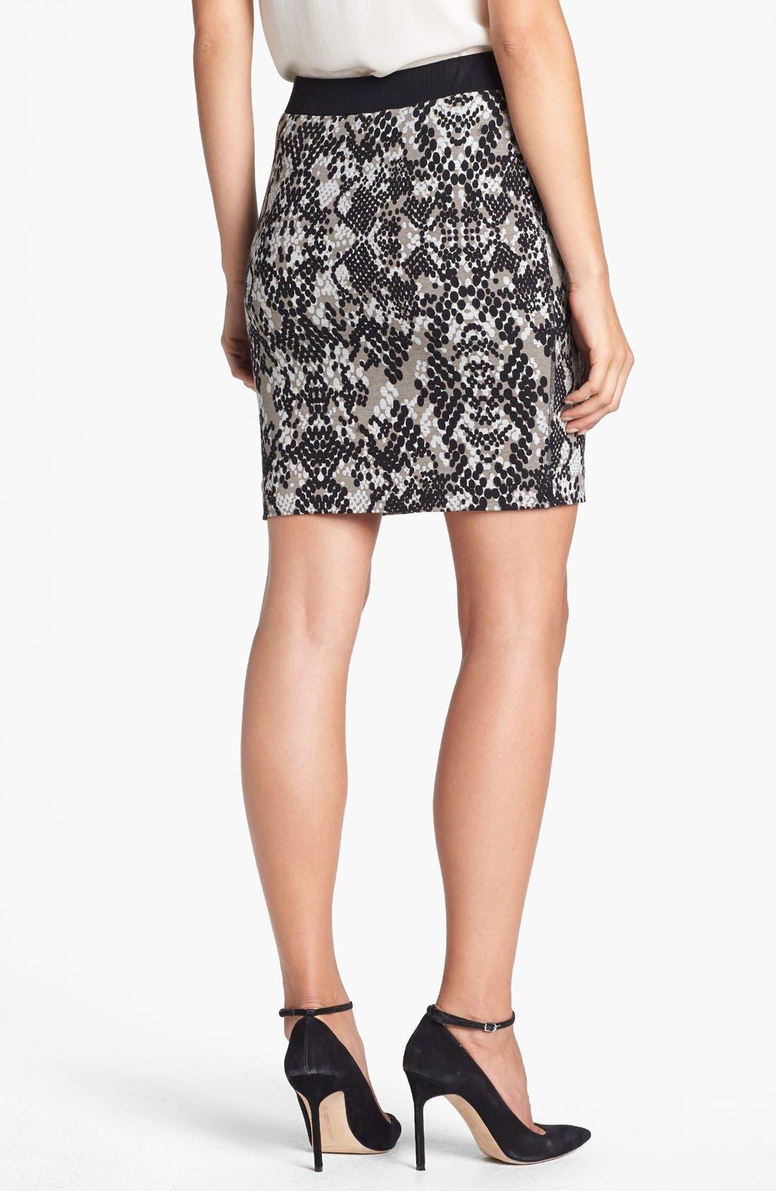 Alternate Image 2  - Trina Turk 'Candra' Print Ponte Skirt