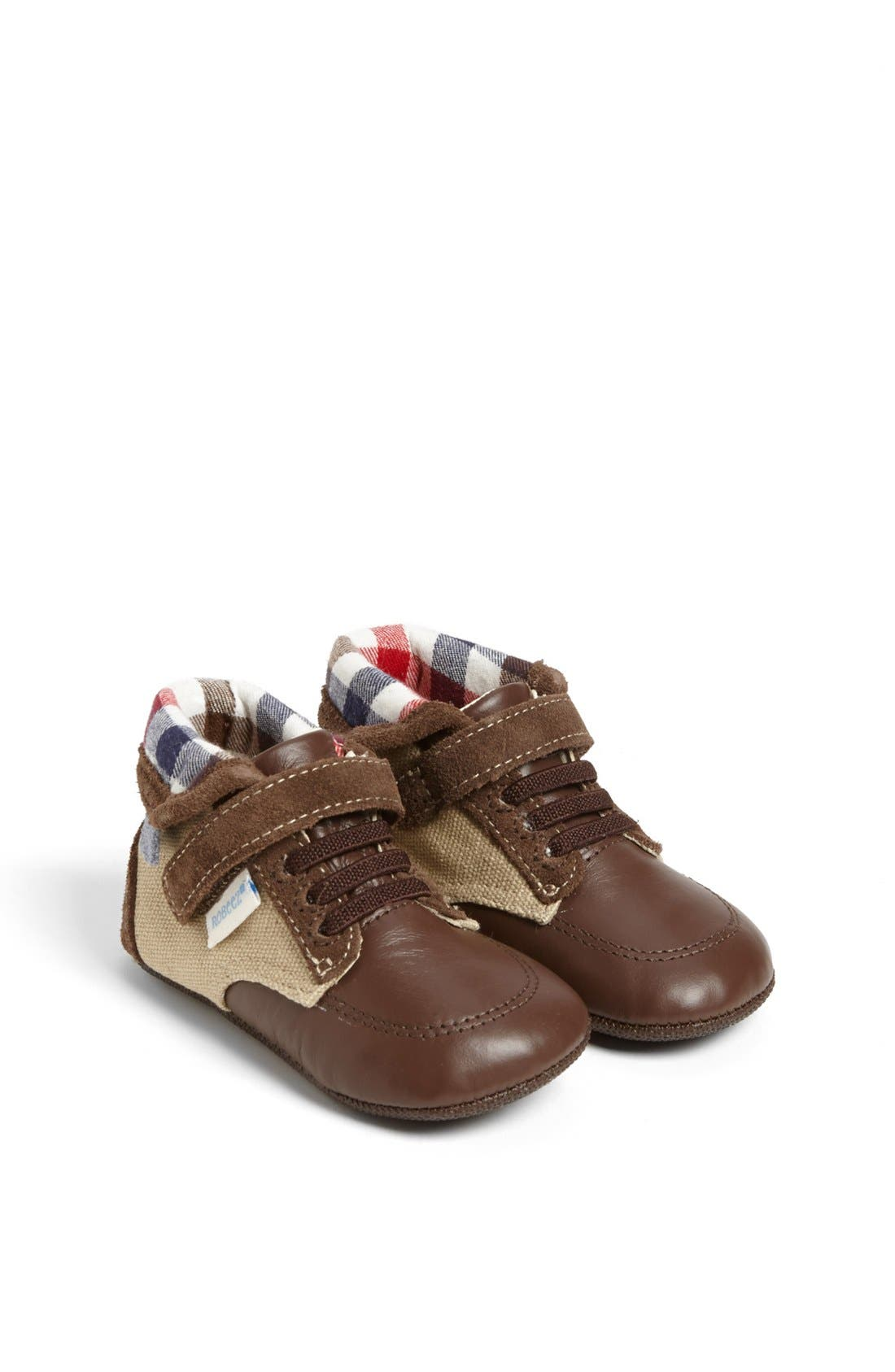 Alternate Image 1 Selected - Robeez® Mini Shoez 'Taylor' Boot (Baby & Walker)