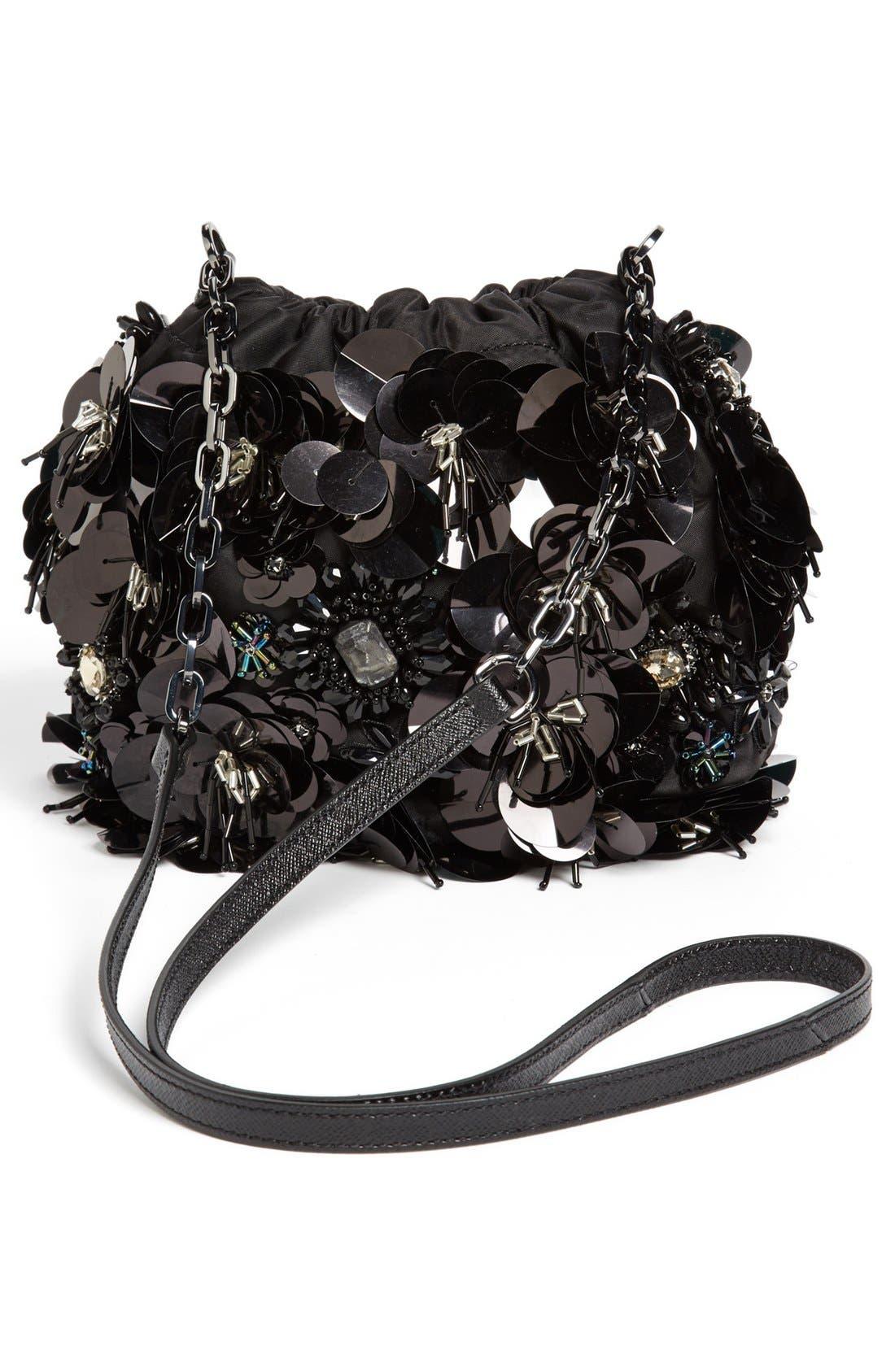 Alternate Image 4  - Tory Burch 'Flower Cluster - Mini' Crossbody Bag