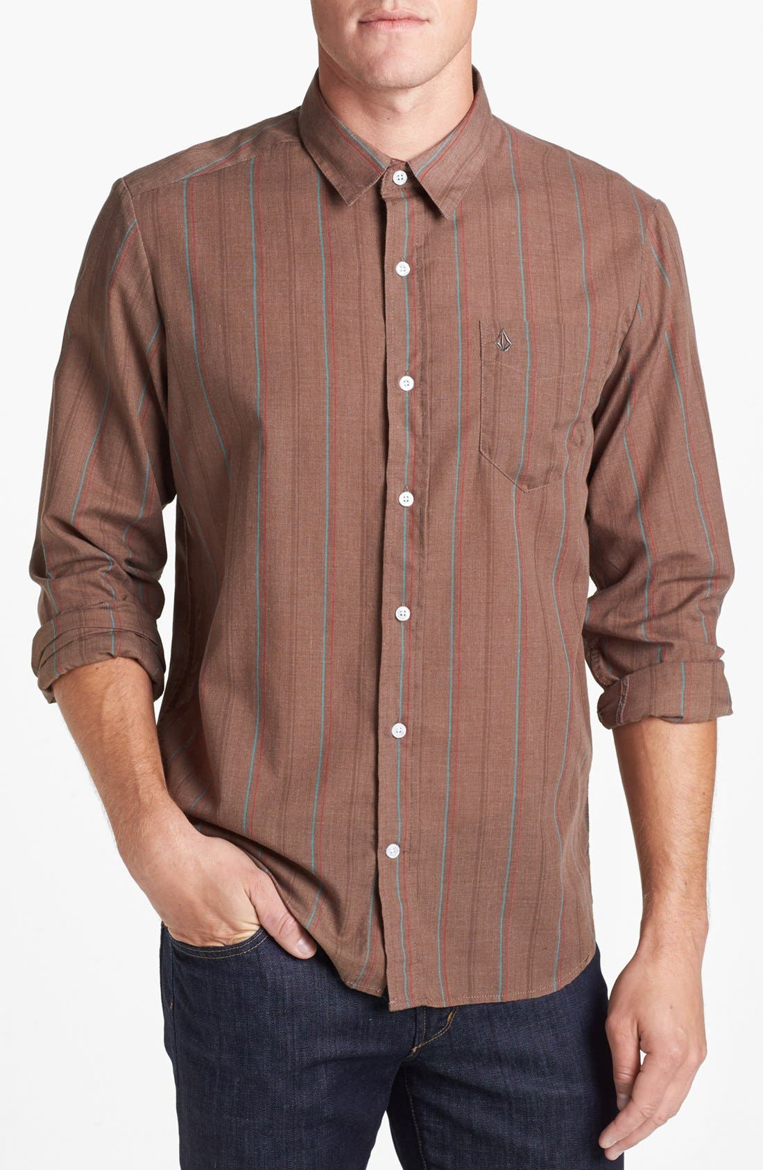 Alternate Image 1 Selected - Volcom 'Why Factor' Sport Shirt