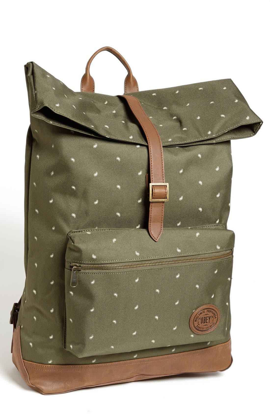 Main Image - Obey 'Ballast' Roll Top Backpack