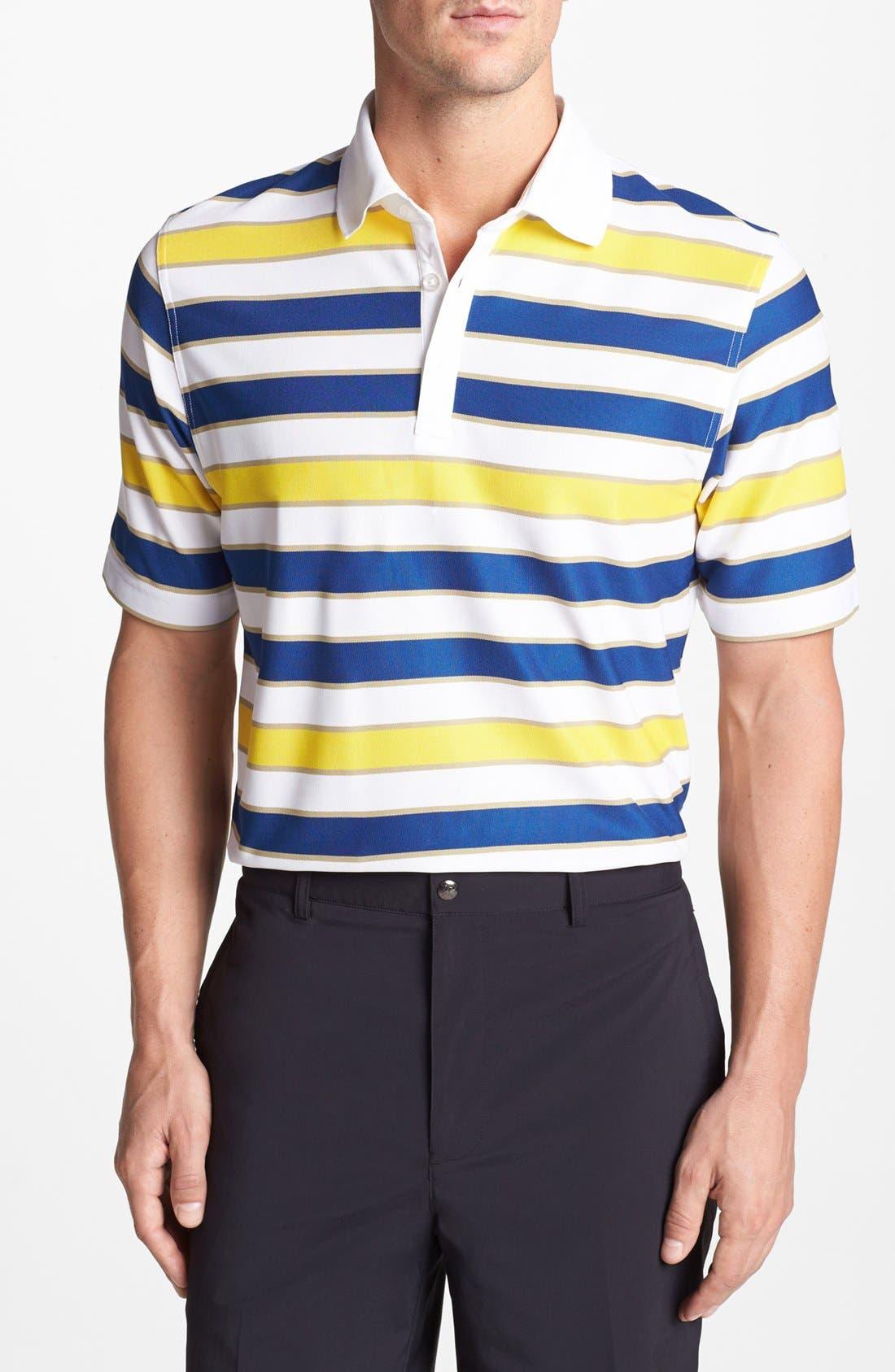 Alternate Image 1 Selected - Callaway Golf® Stripe Wrinkle Free Polo