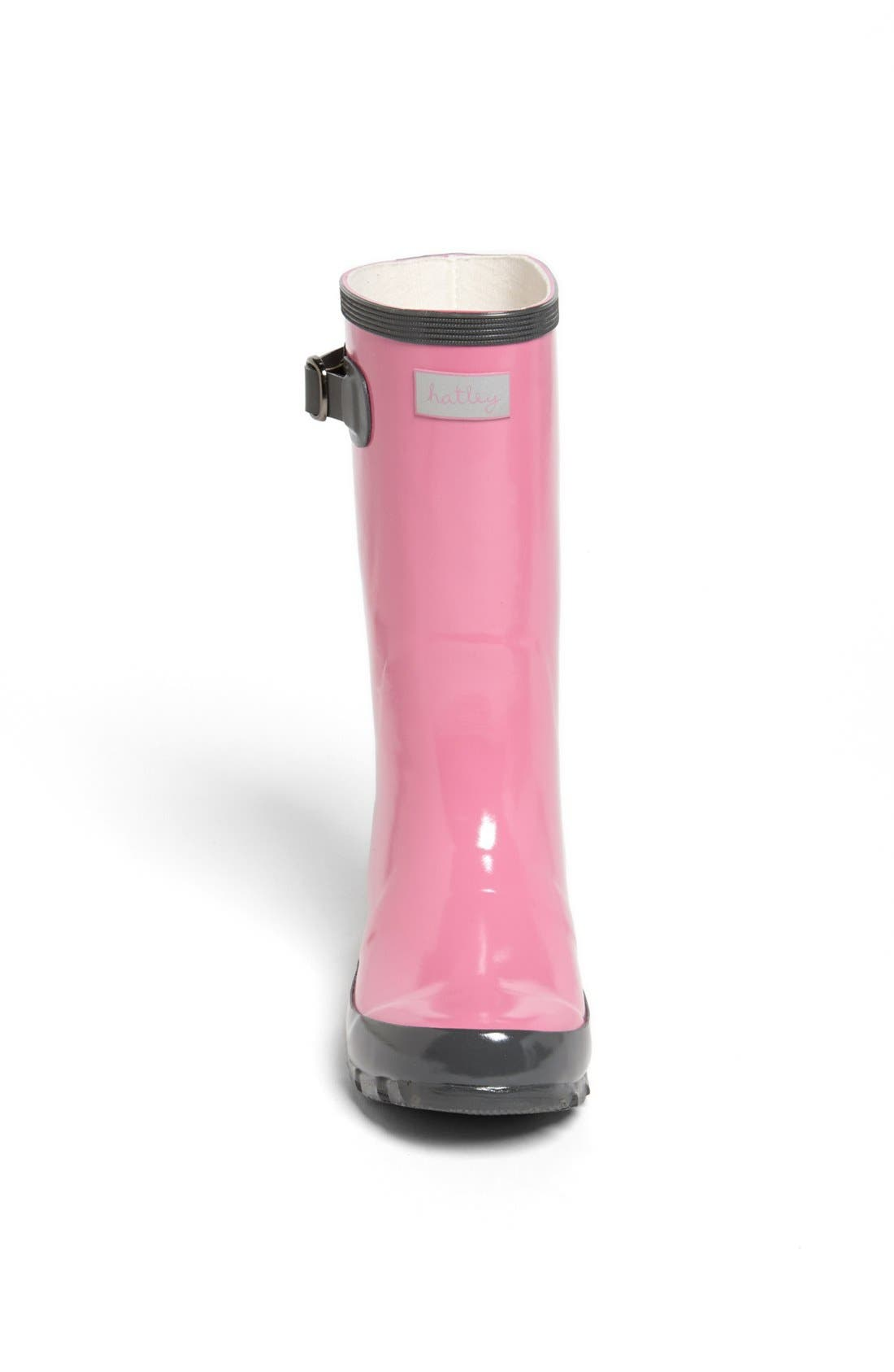 Alternate Image 3  - Hatley 'Orchid Lily' Rain Boot (Toddler & Little Kid)