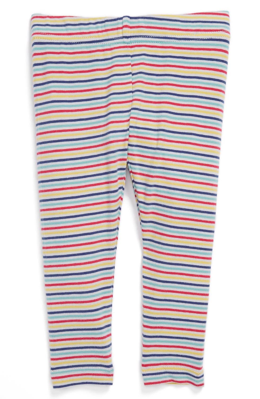 Alternate Image 1 Selected - Tucker + Tate 'Core' Stripe Leggings (Infant)