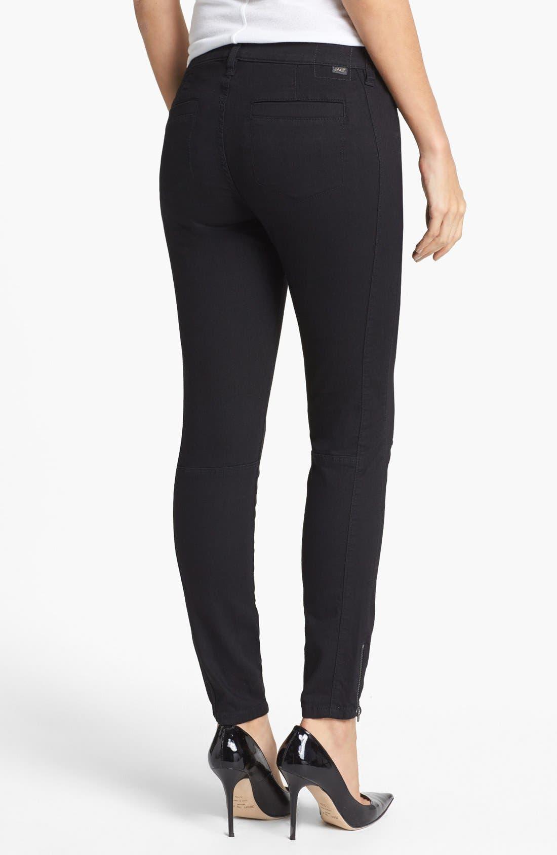 Alternate Image 2  - Jag Jeans 'Bren' Zip Detail Skinny Jeans