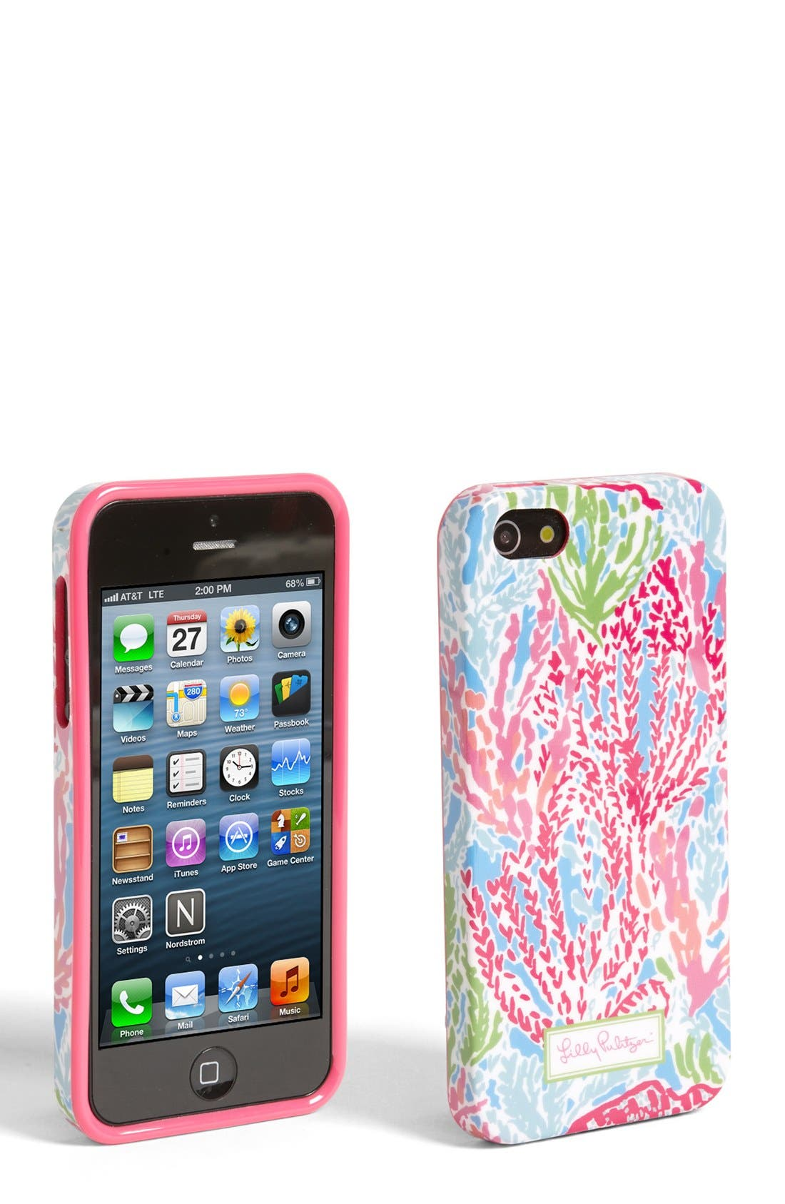 Alternate Image 1 Selected - Lilly Pulitzer® 'Let's Cha Cha' iPhone 5 Case