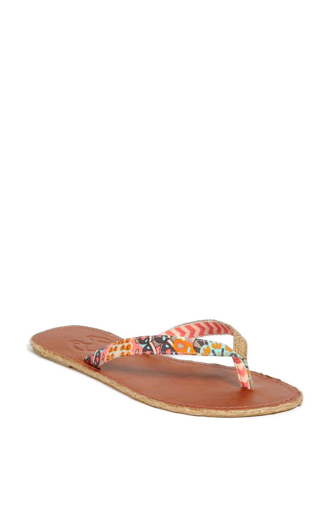 Alternate Image 1 Selected - Maaji Coral Chevron Flip Flops