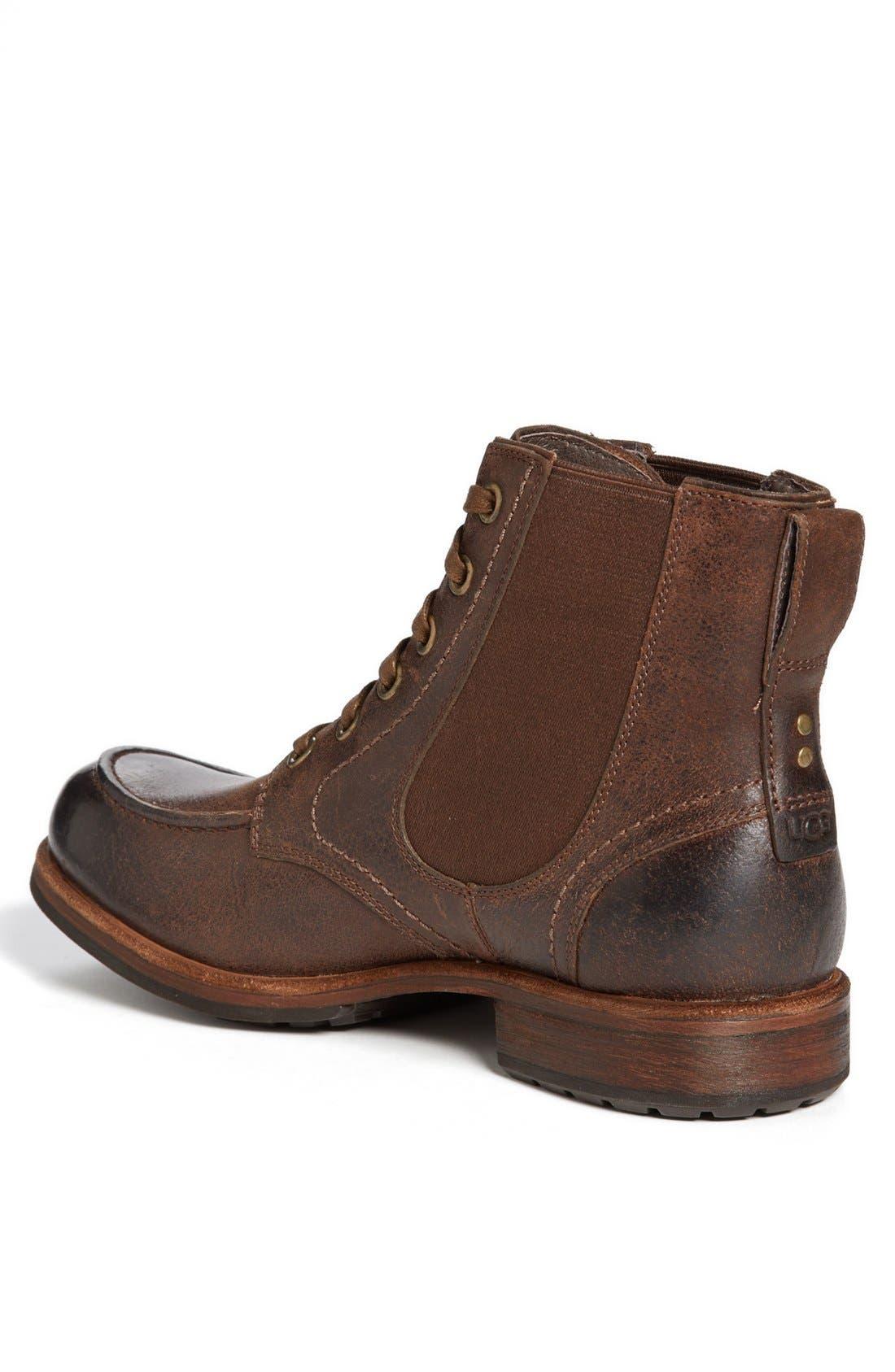 Alternate Image 2  - UGG® Australia 'Jarrett' Moc Toe Boot (Men)