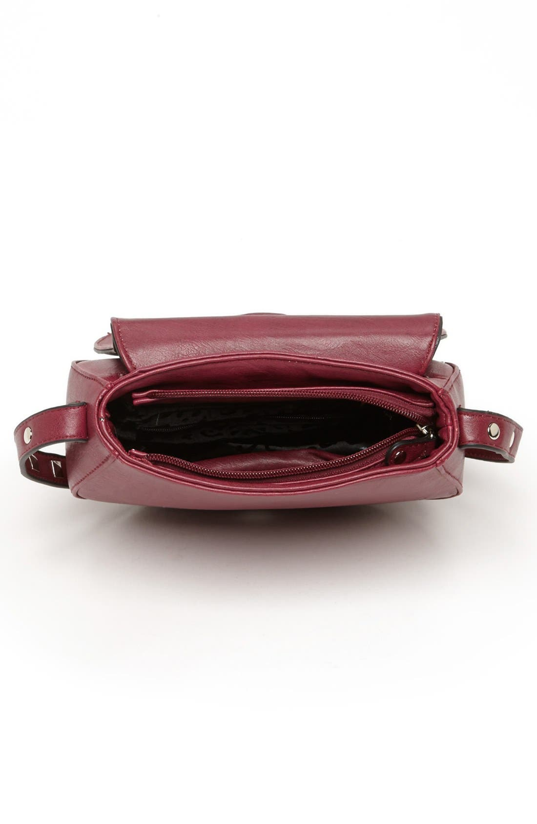 Alternate Image 3  - Emperia Faux Leather Crossbody Bag (Juniors)