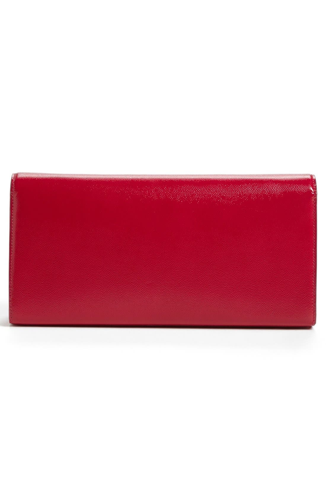 Alternate Image 3  - Saint Laurent 'Cassandre - Vernis' Leather Clutch