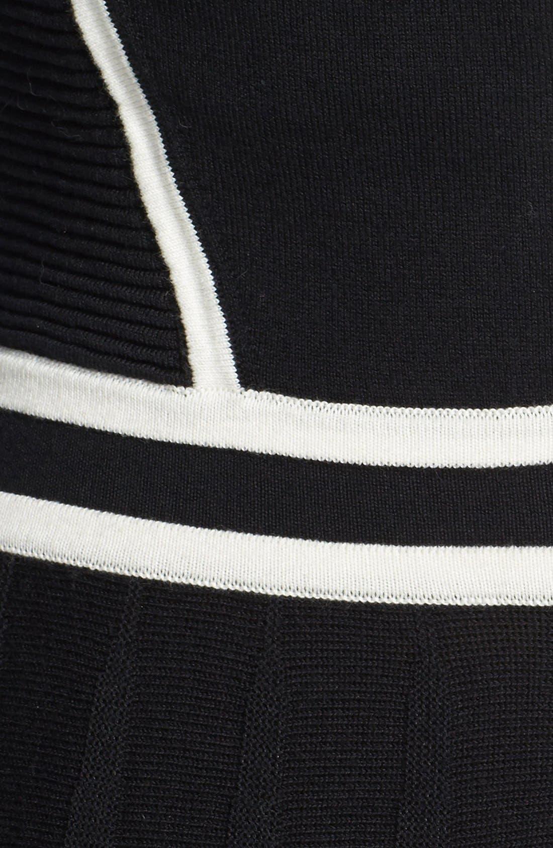Alternate Image 3  - MARC BY MARC JACOBS 'Alexis' Cotton Blend Sweater Dress