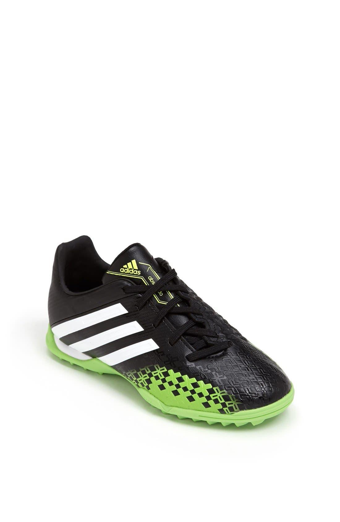 Alternate Image 1 Selected - adidas 'Predator Absolado LZ TRX TF' Soccer Shoe (Toddler, Little Kid & Big Kid)