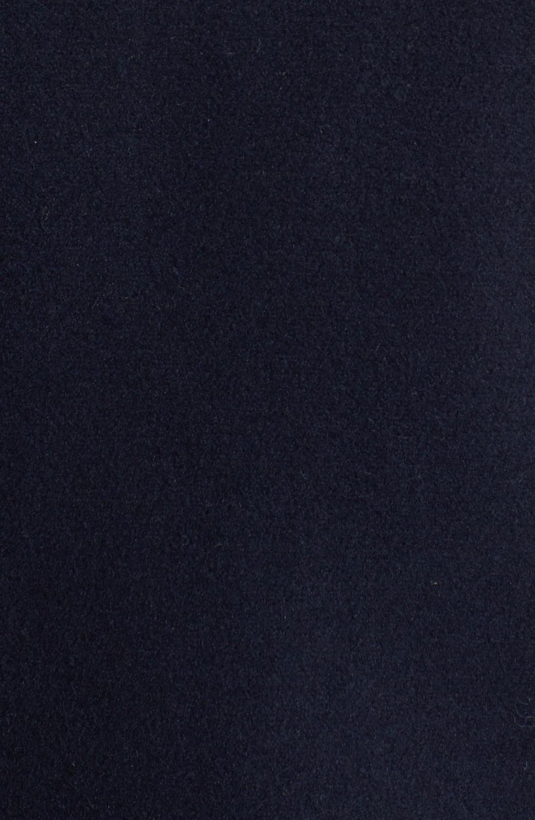 Alternate Image 3  - Topman Skinny Fit Double Breasted Wool Blend Peacoat