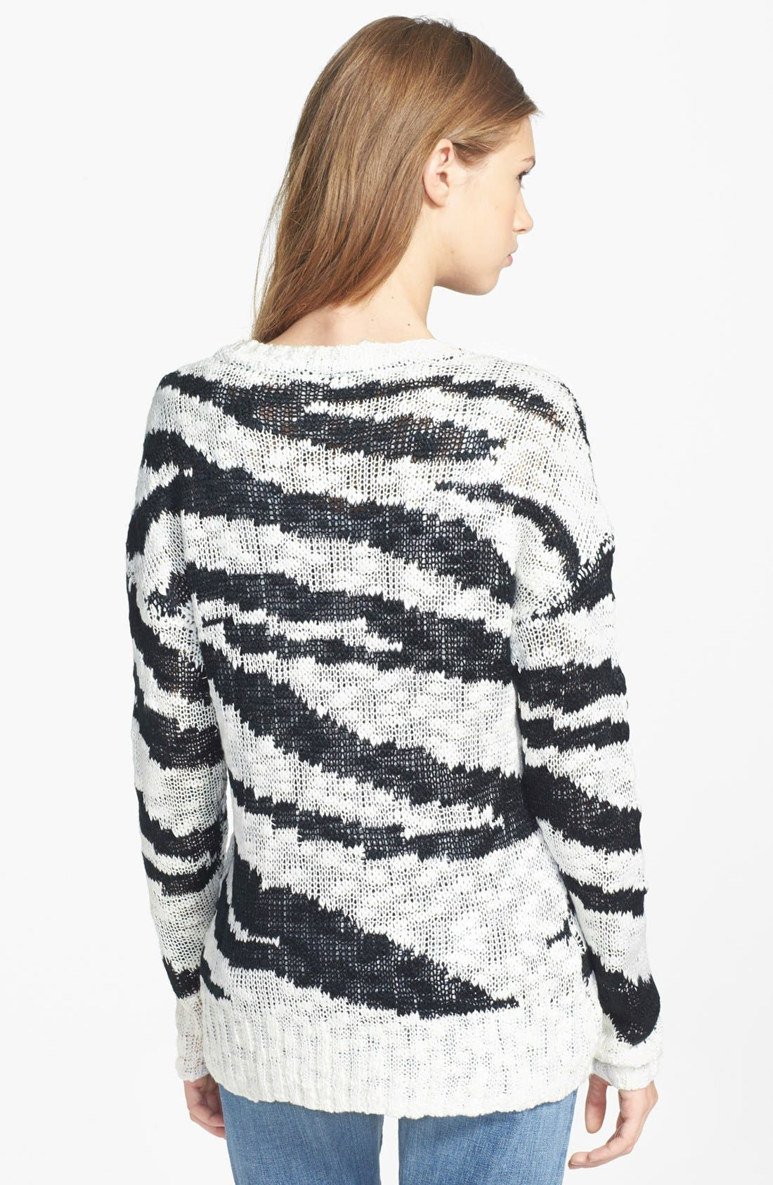 Alternate Image 2  - Research & Design Scoop Neck Sweater