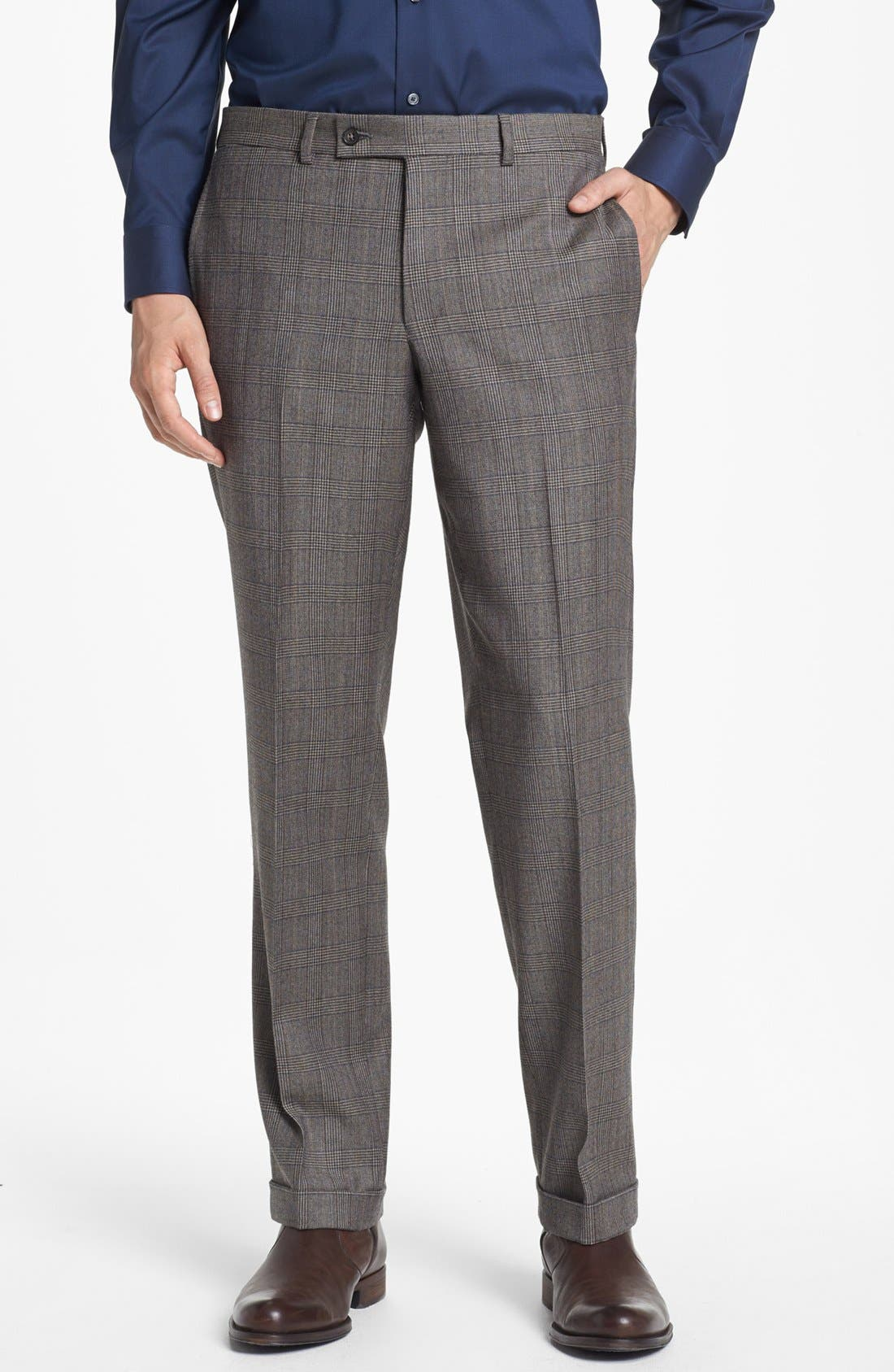Alternate Image 5  - Ted Baker London 'Jones' Trim Fit Plaid Suit