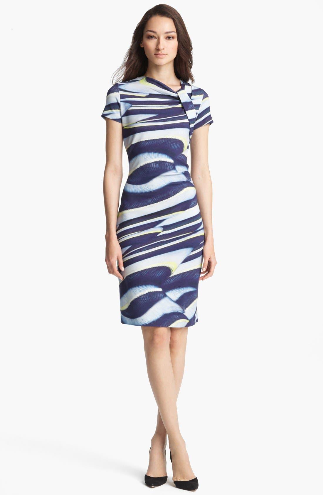 Alternate Image 1 Selected - ESCADA 'Plumeria' Print Dress