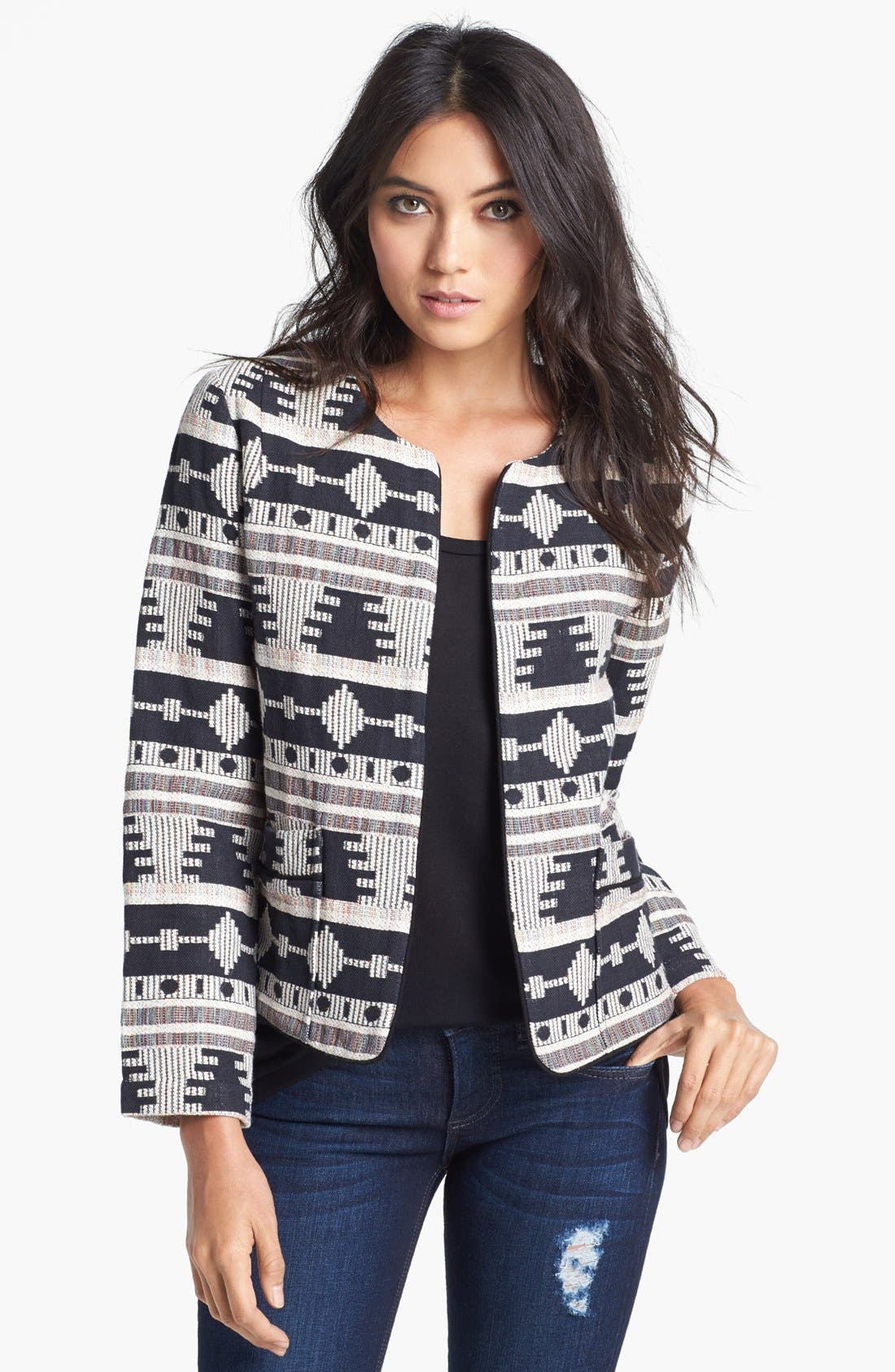 Alternate Image 1 Selected - Like Mynded 'Tribal' Pattern Jacket