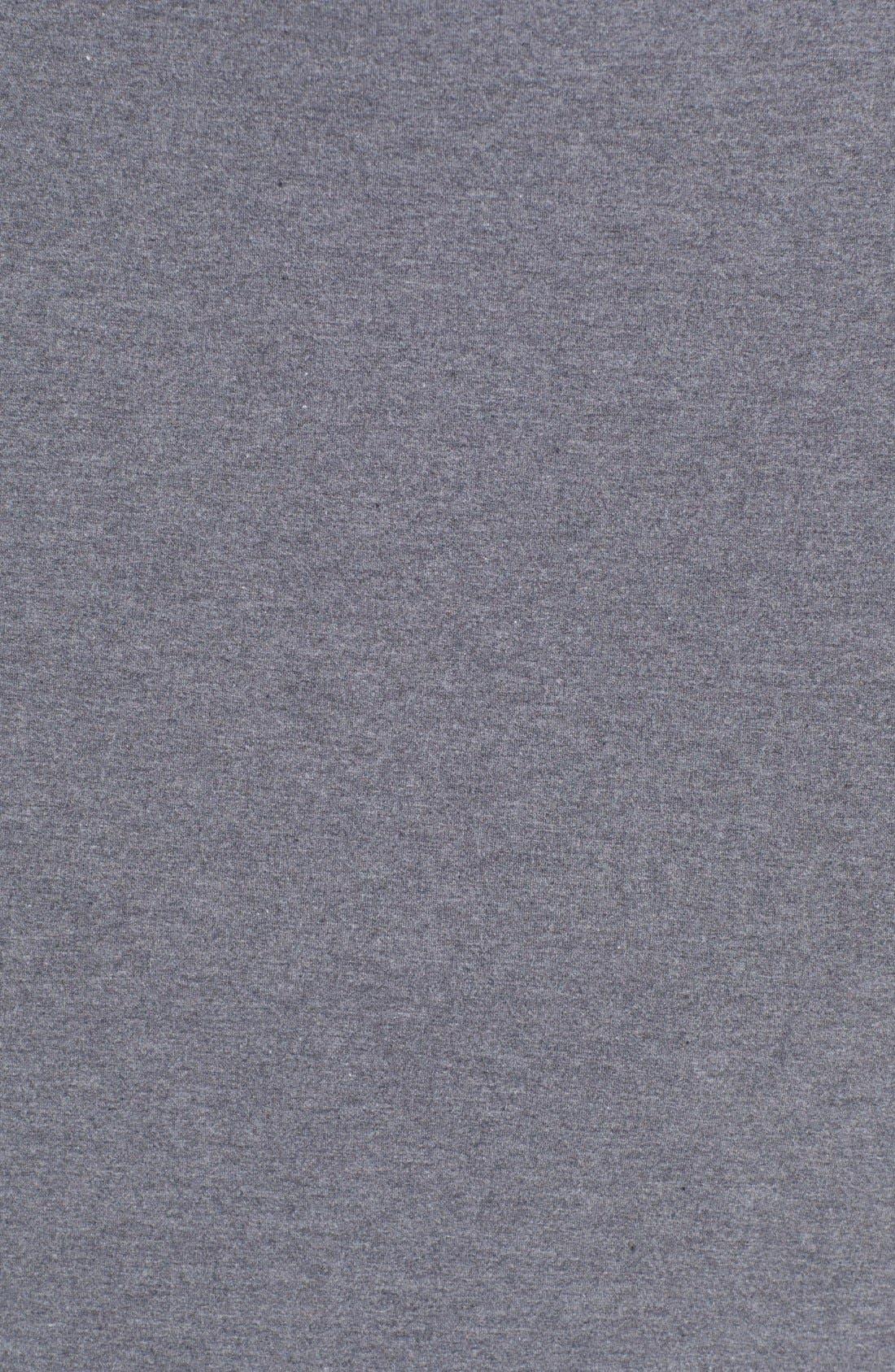 Alternate Image 3  - Halogen® Stripe French Terry Skirt