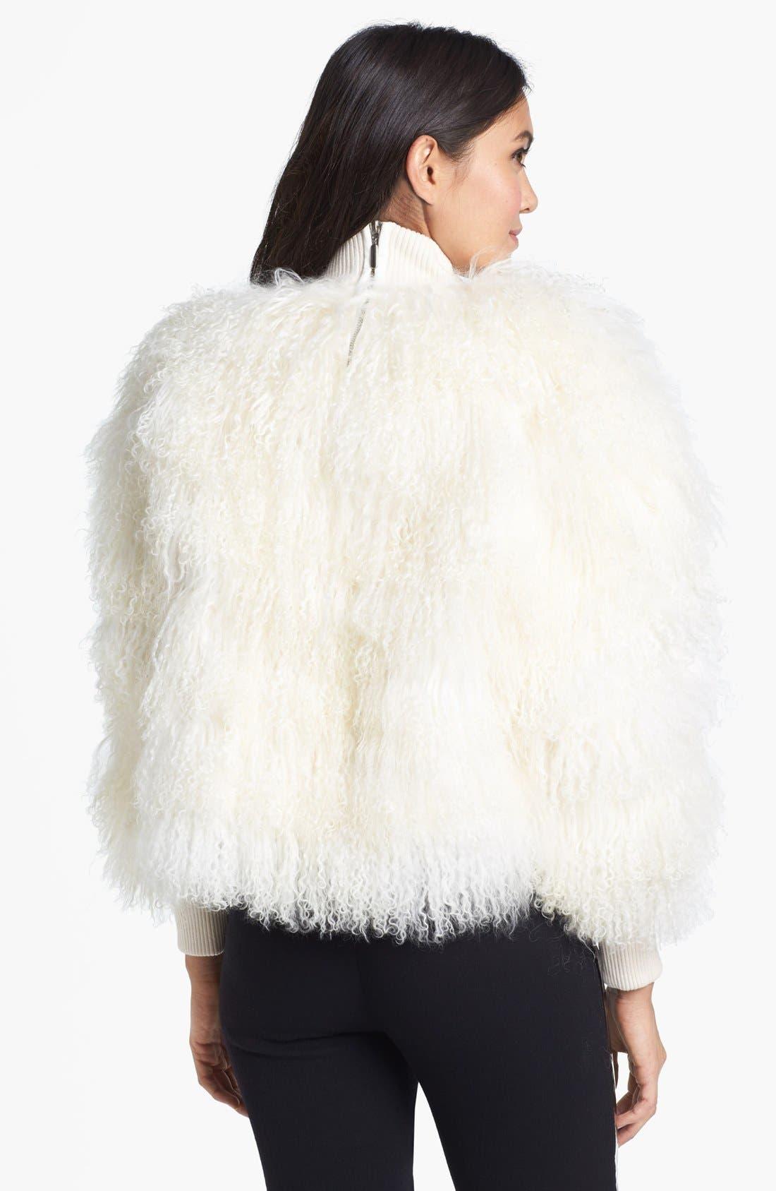 Alternate Image 3  - Topshop Unique Genuine Lamb Shearling Sweater
