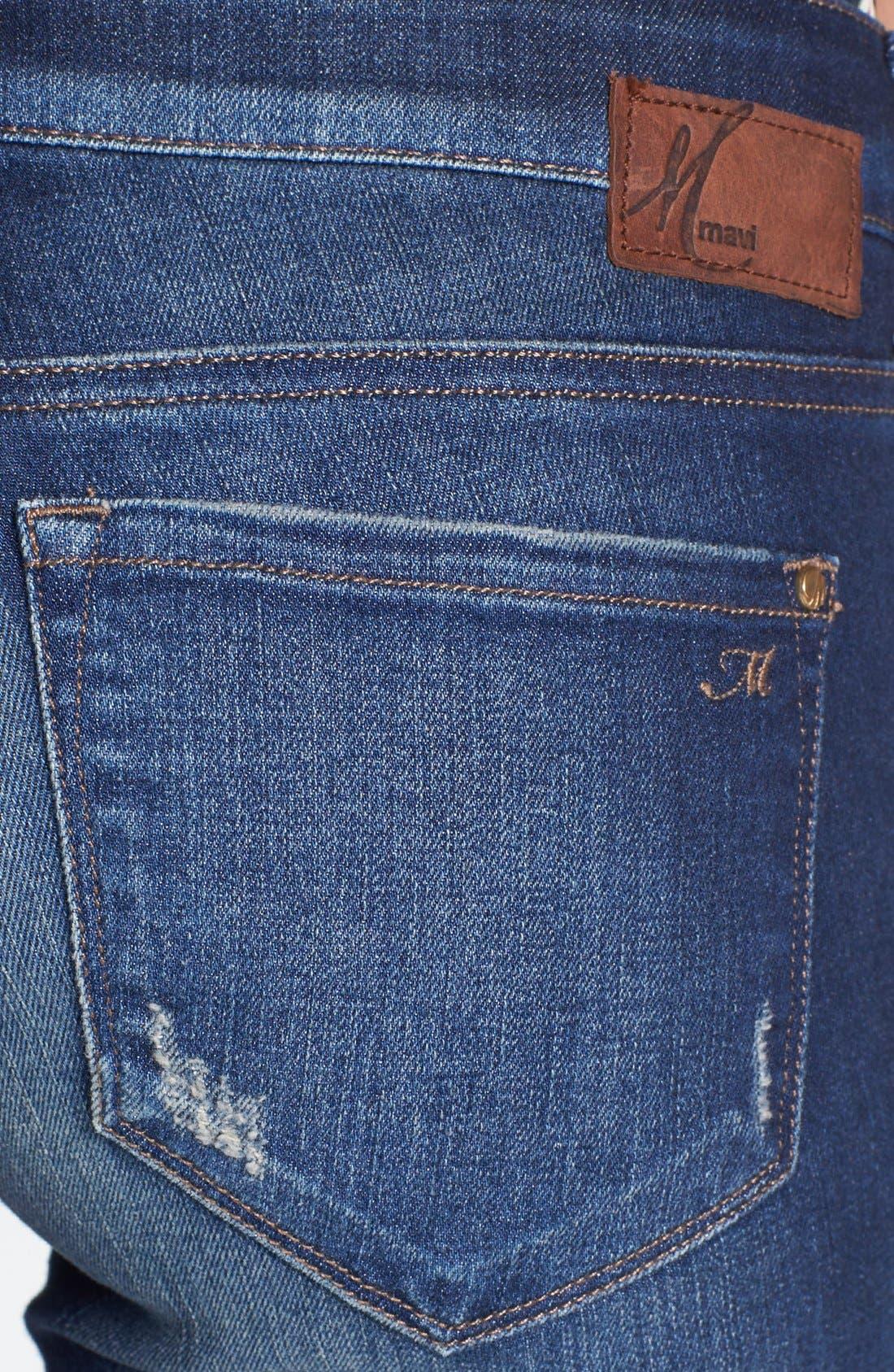 Alternate Image 3  - Mavi Jeans 'Emma' Slim Fit Boyfriend Jeans (Vintage)
