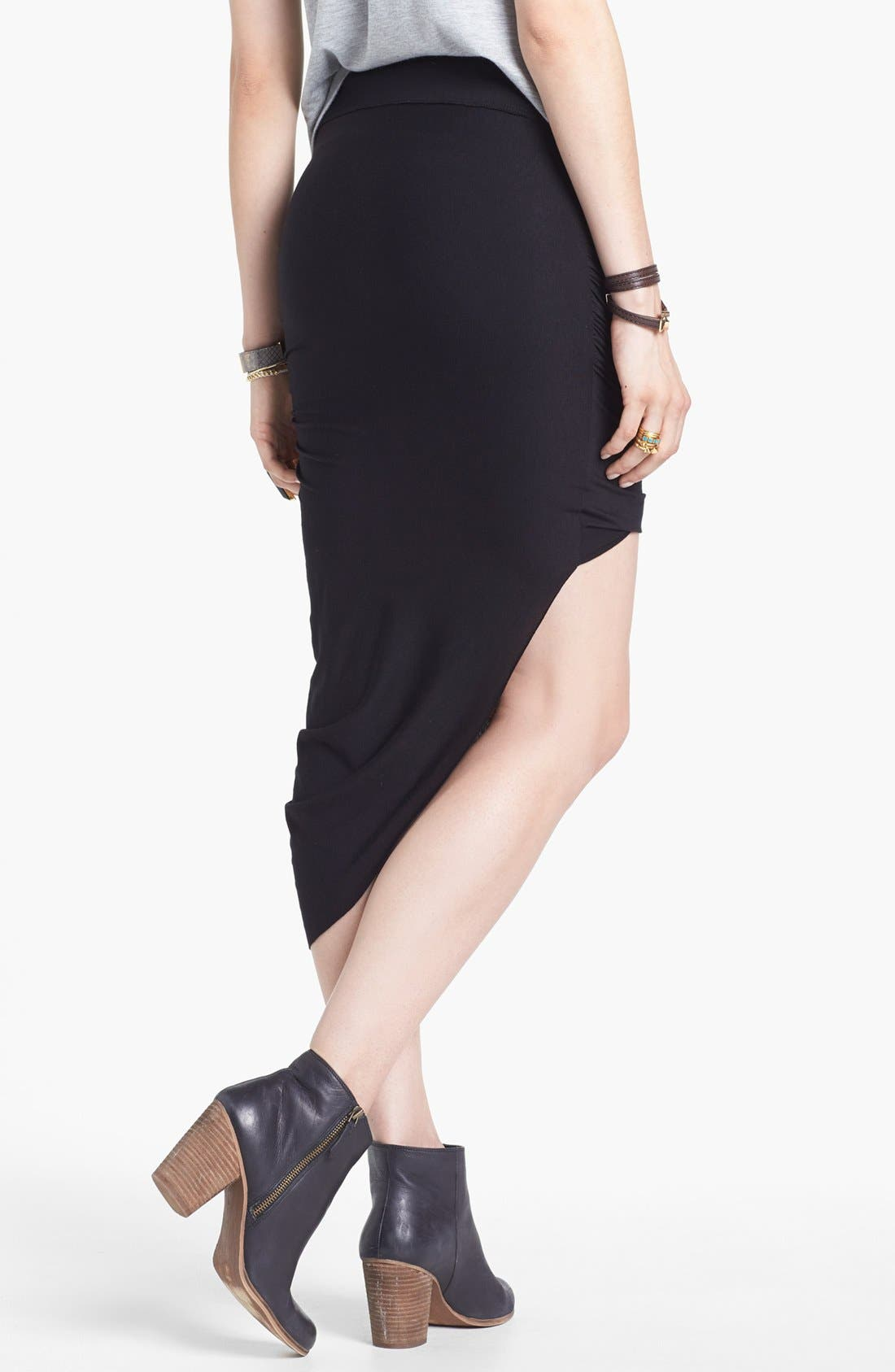 Alternate Image 2  - Free People 'Twist and Shout' Draped Skirt