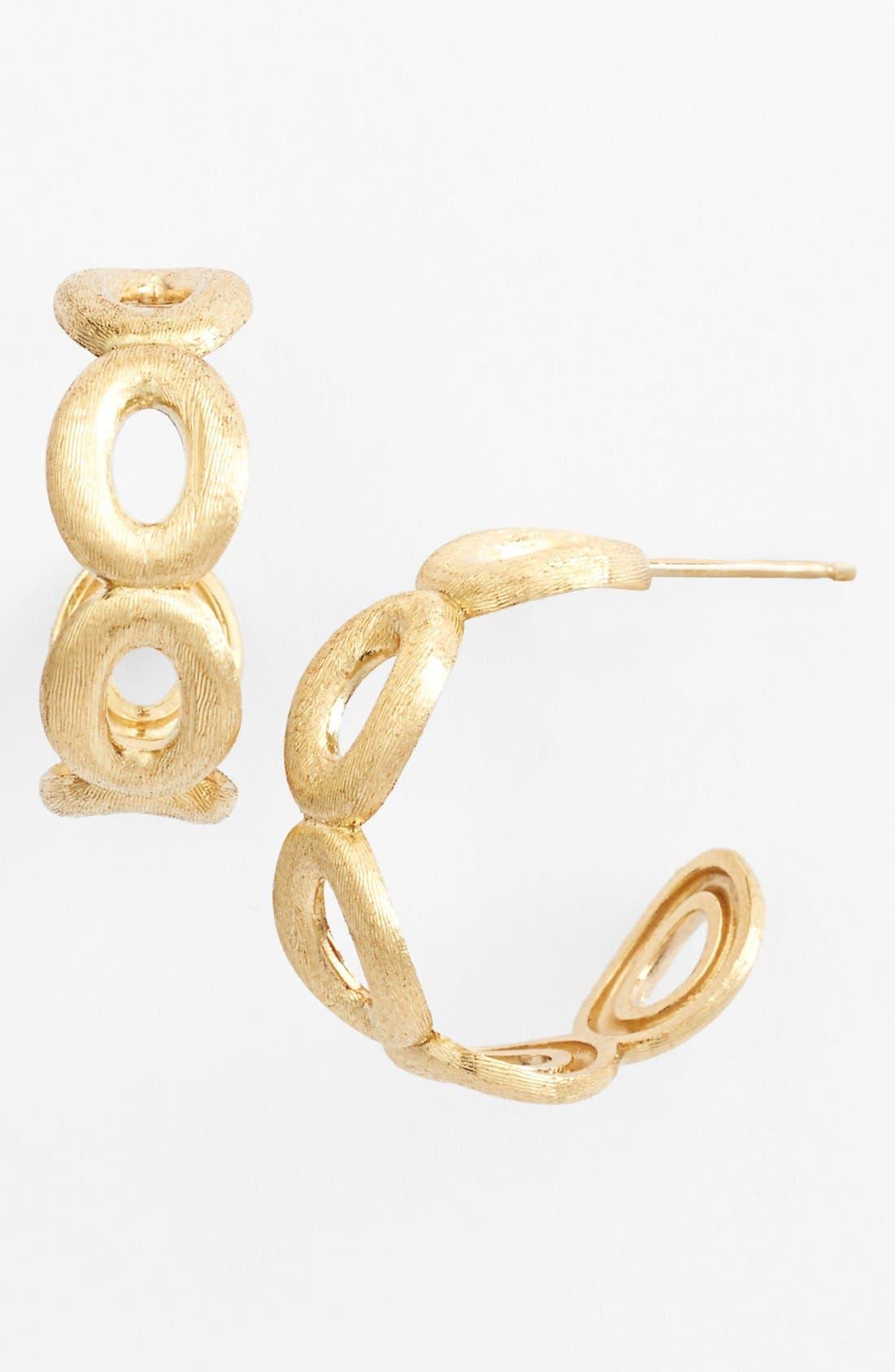 Alternate Image 1 Selected - Marco Bicego 'Siviglia' Hoop Earrings