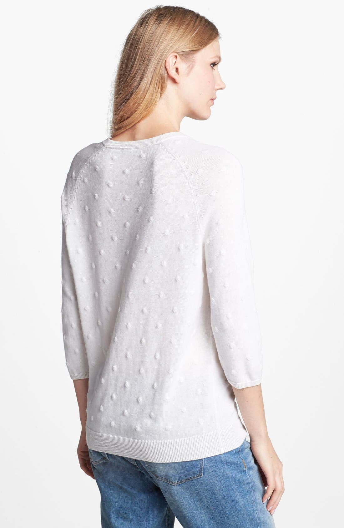 Alternate Image 2  - Vince Camuto Bubble Stitch Sweater