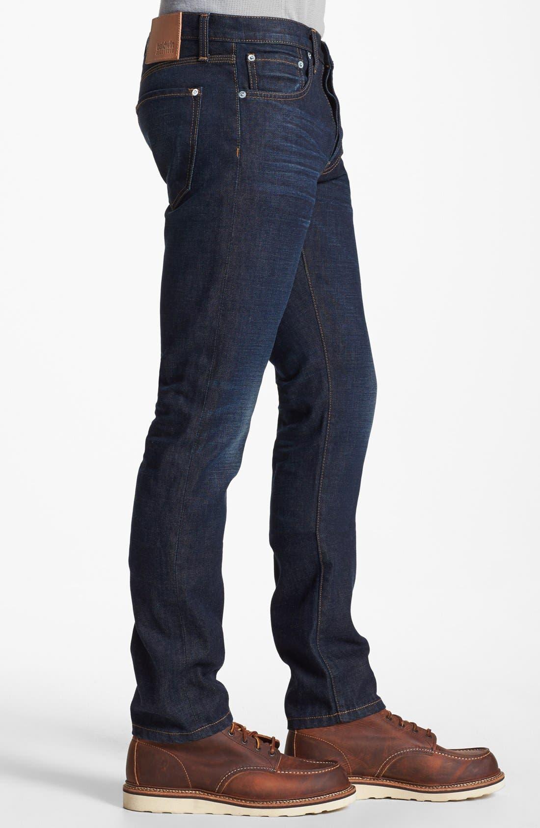 Alternate Image 3  - Baldwin 'Henley' Skinny Fit Jeans (Daniel)