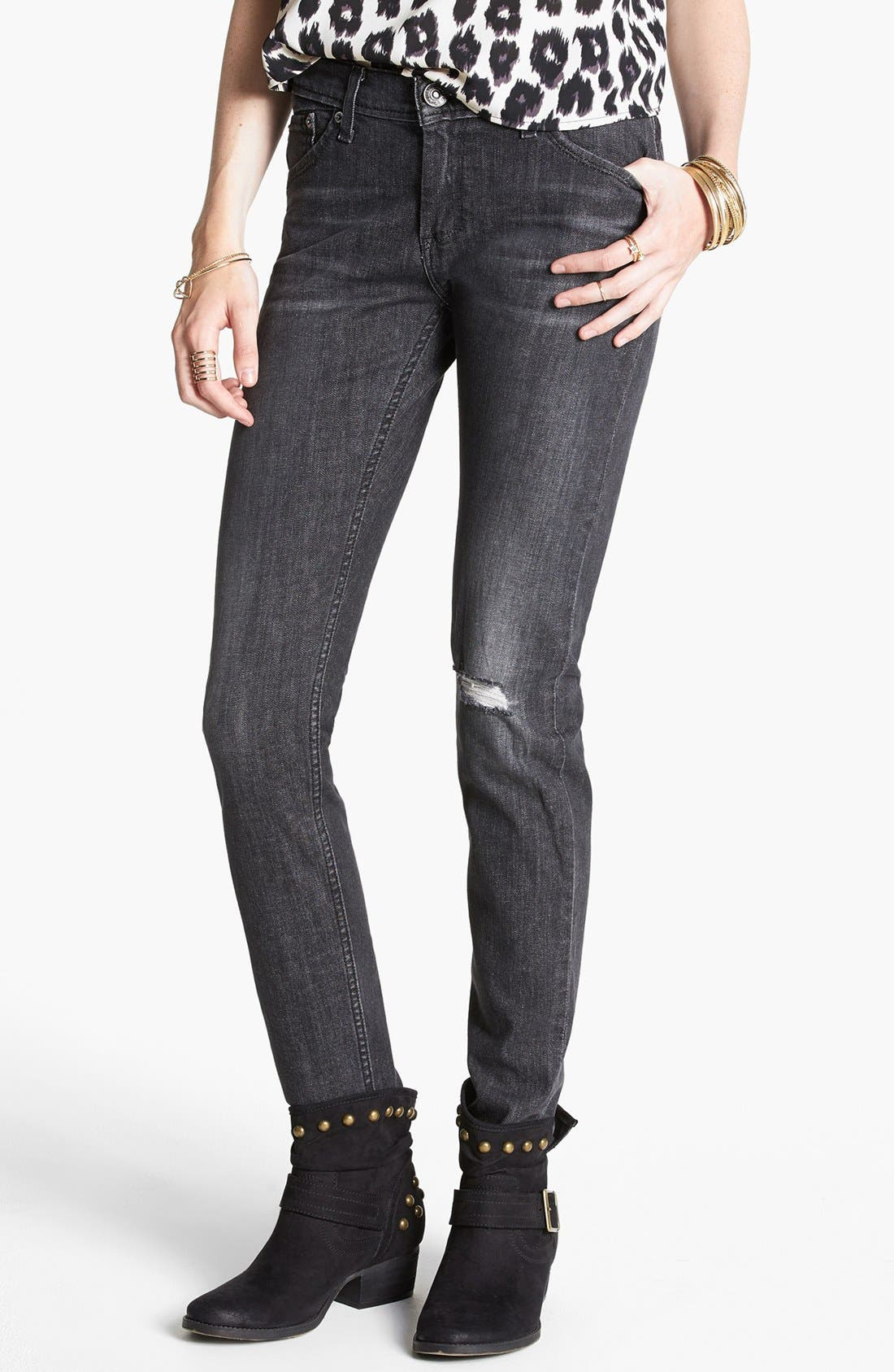 Alternate Image 1 Selected - Levi's® Boyfriend Skinny Jeans (Medium)