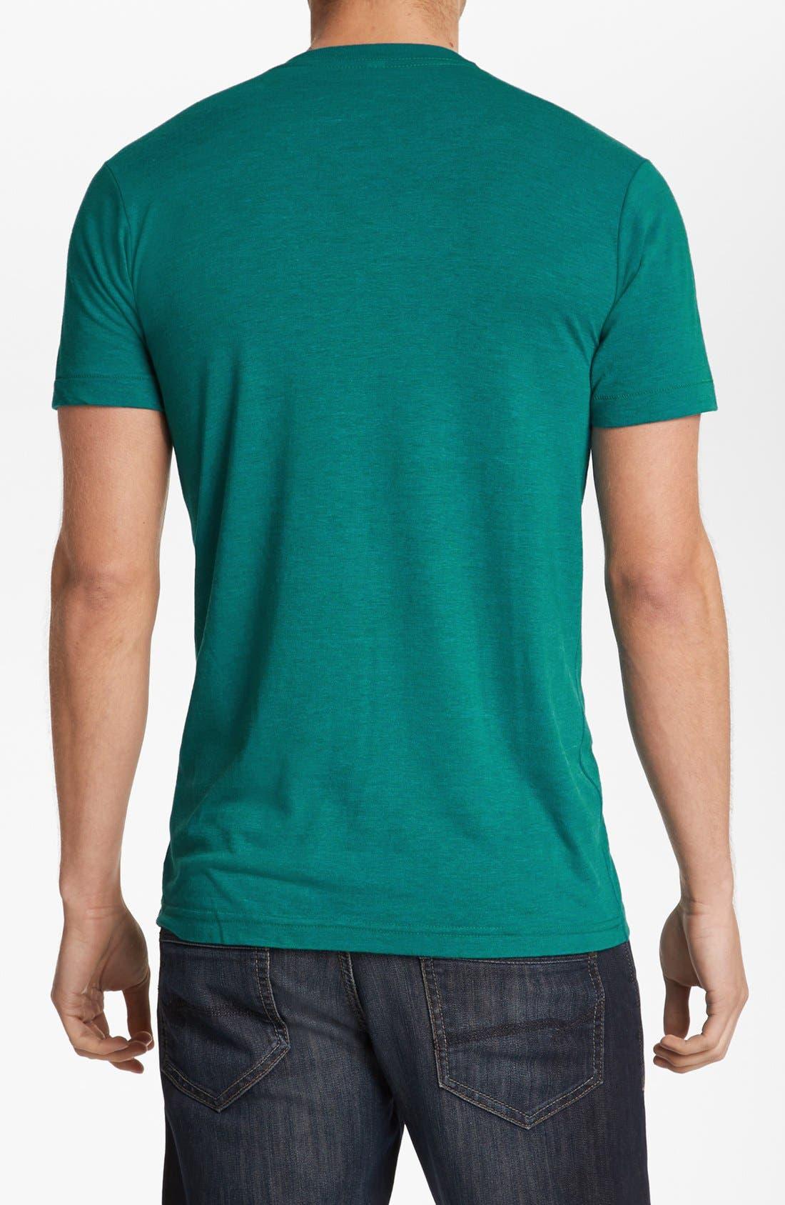 Alternate Image 2  - Casual Industrees 'Umbrella Rain' Graphic T-Shirt