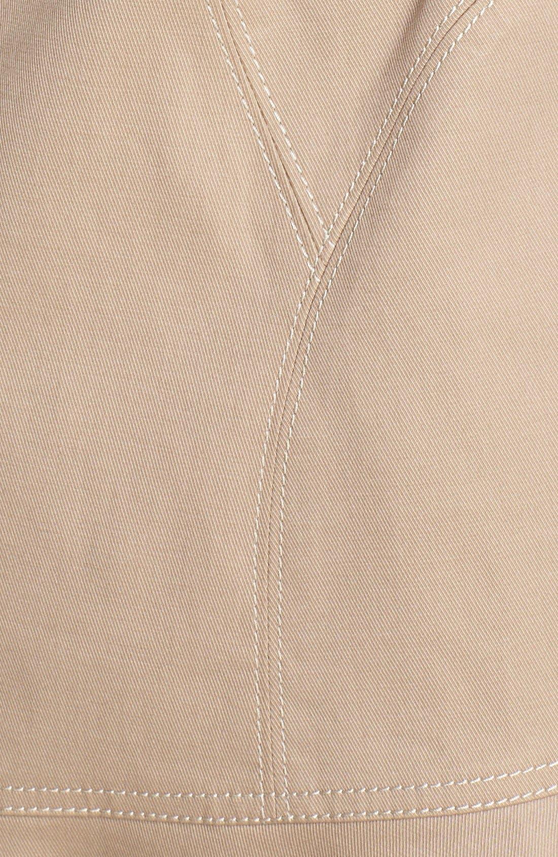 Alternate Image 3  - Diane von Furstenberg 'Kadence' Cotton Blend Trench Coat