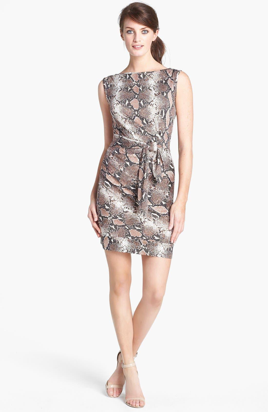 Alternate Image 1 Selected - Diane von Furstenberg 'New Della' Silk Sheath Dress