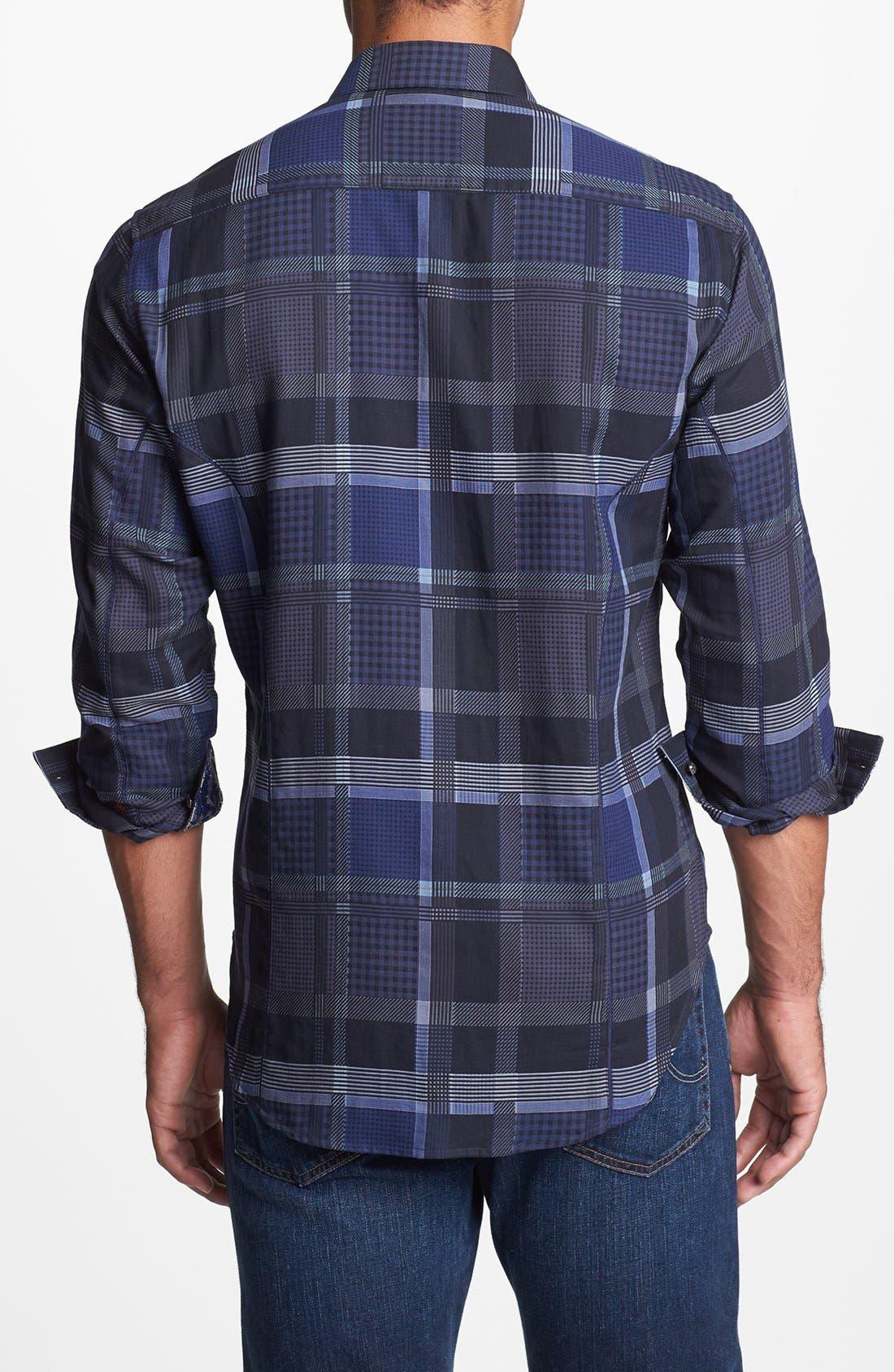 Alternate Image 2  - Robert Graham 'Malachite' Regular Fit Sport Shirt (Limited Edition)