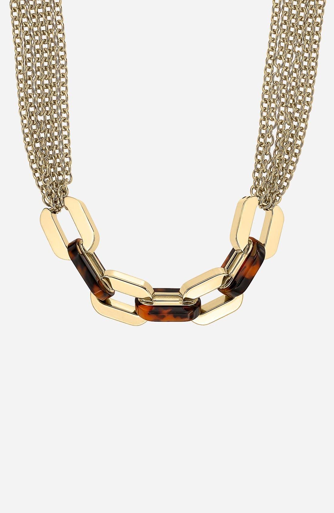 Alternate Image 3  - Michael Kors 'Modernist Glitz' Long Multi Chain Necklace