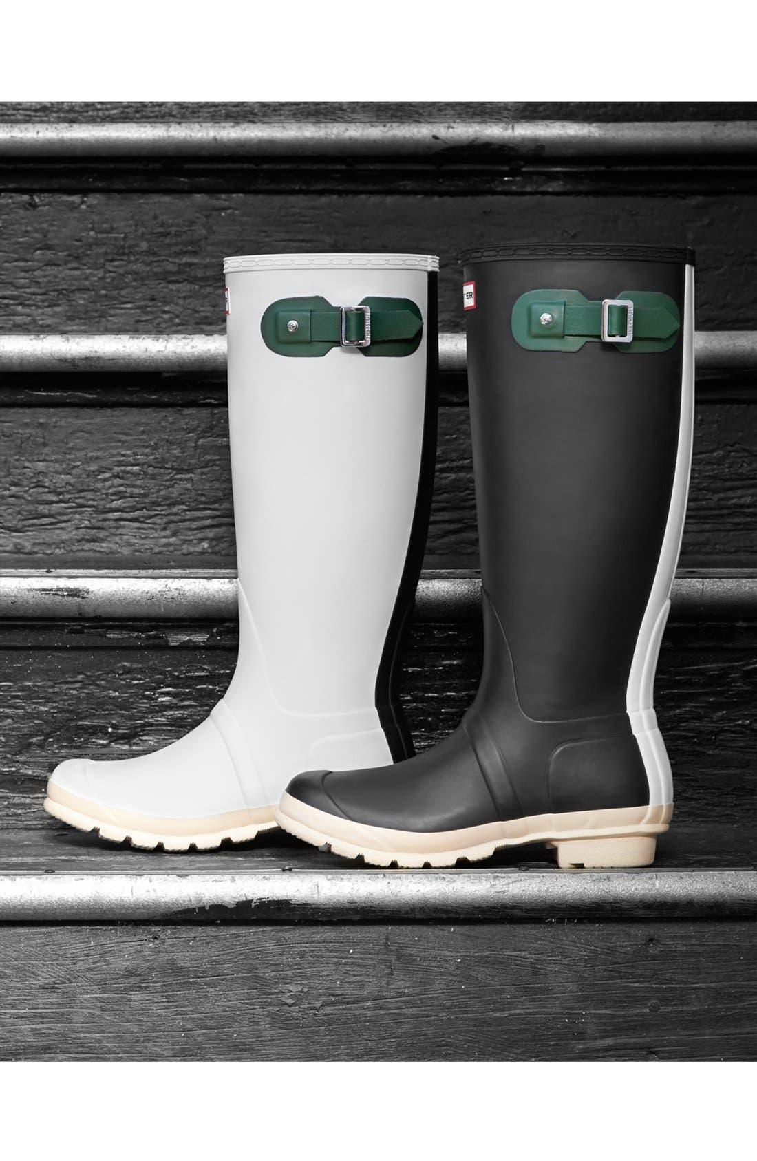 Alternate Image 2  - Hunter 'Original - Contrast' Waterproof Rain Boot (Women)