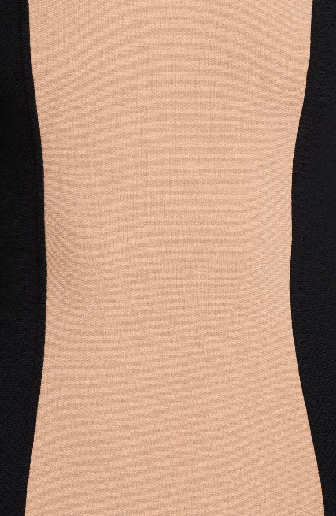 Alternate Image 2  - Michael Kors Colorblock Crepe Dress