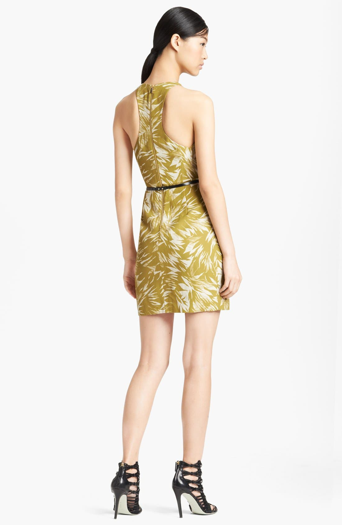 Alternate Image 2  - Jason Wu Botanical Print Racerback Crepe Dress